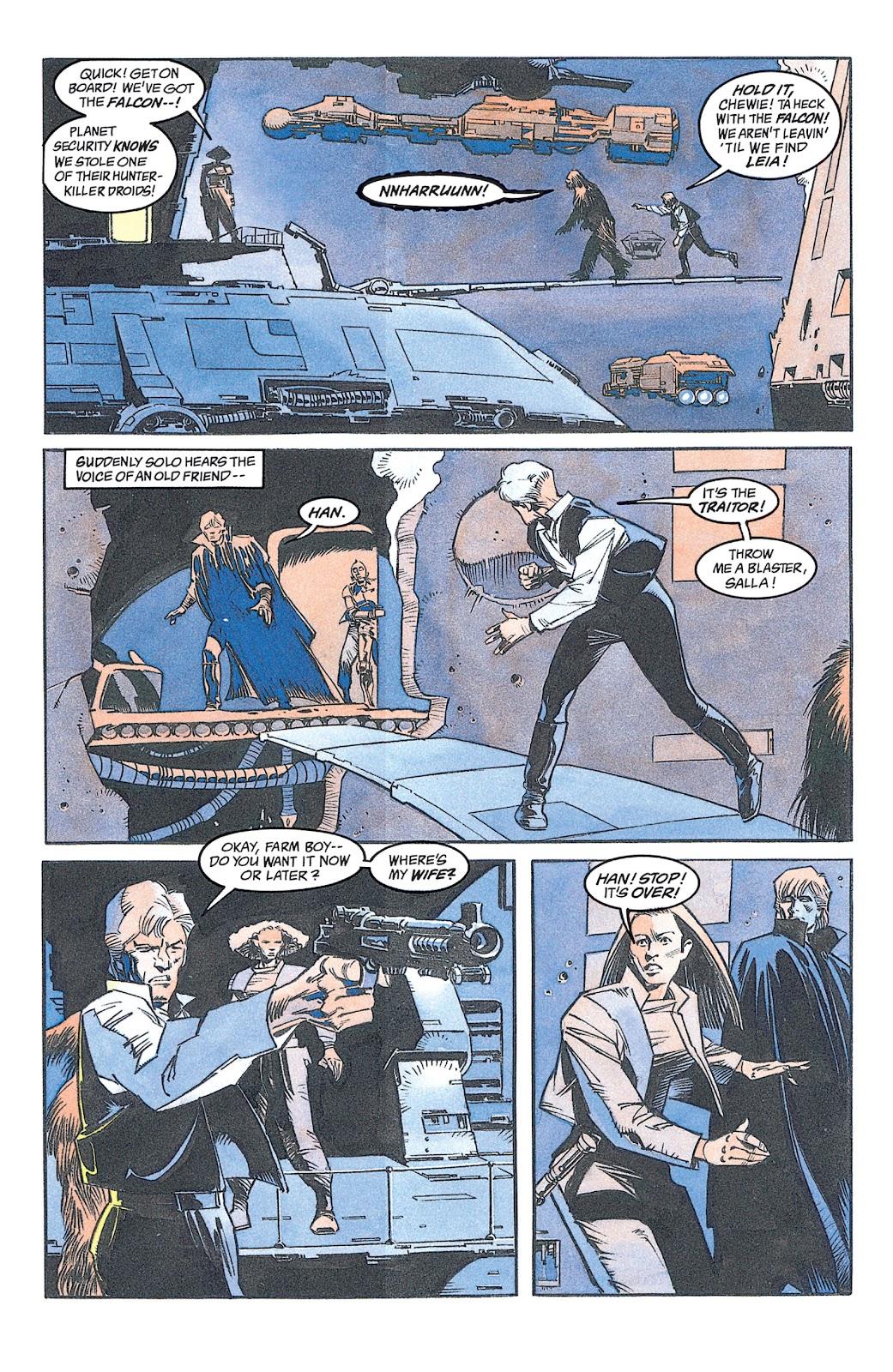 Read online Star Wars: Dark Empire Trilogy comic -  Issue # TPB (Part 2) - 21