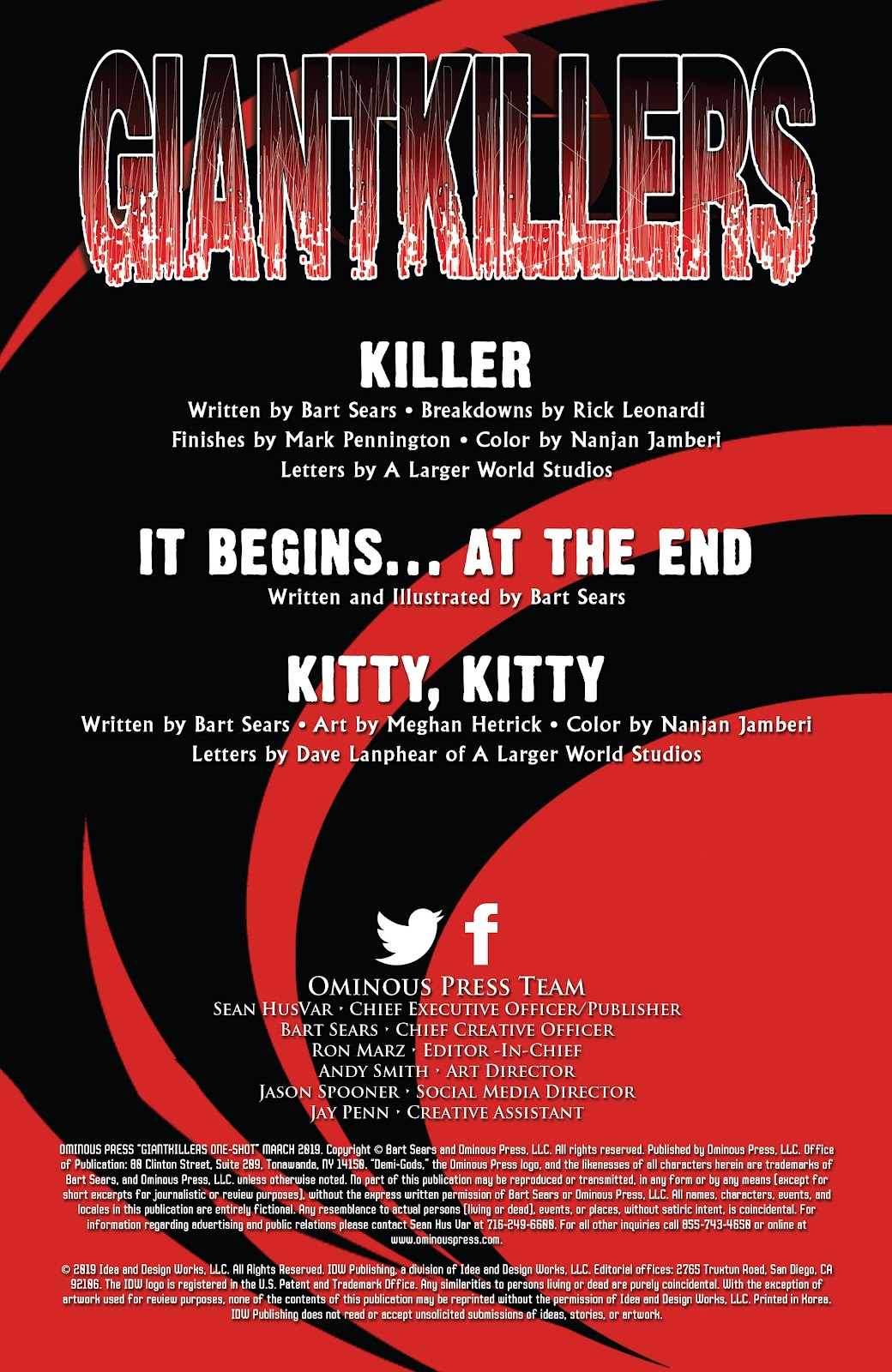 Read online Giantkillers One-Shot comic -  Issue # Full - 2