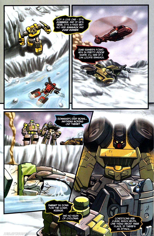 Read online Transformers Armada comic -  Issue #13 - 11