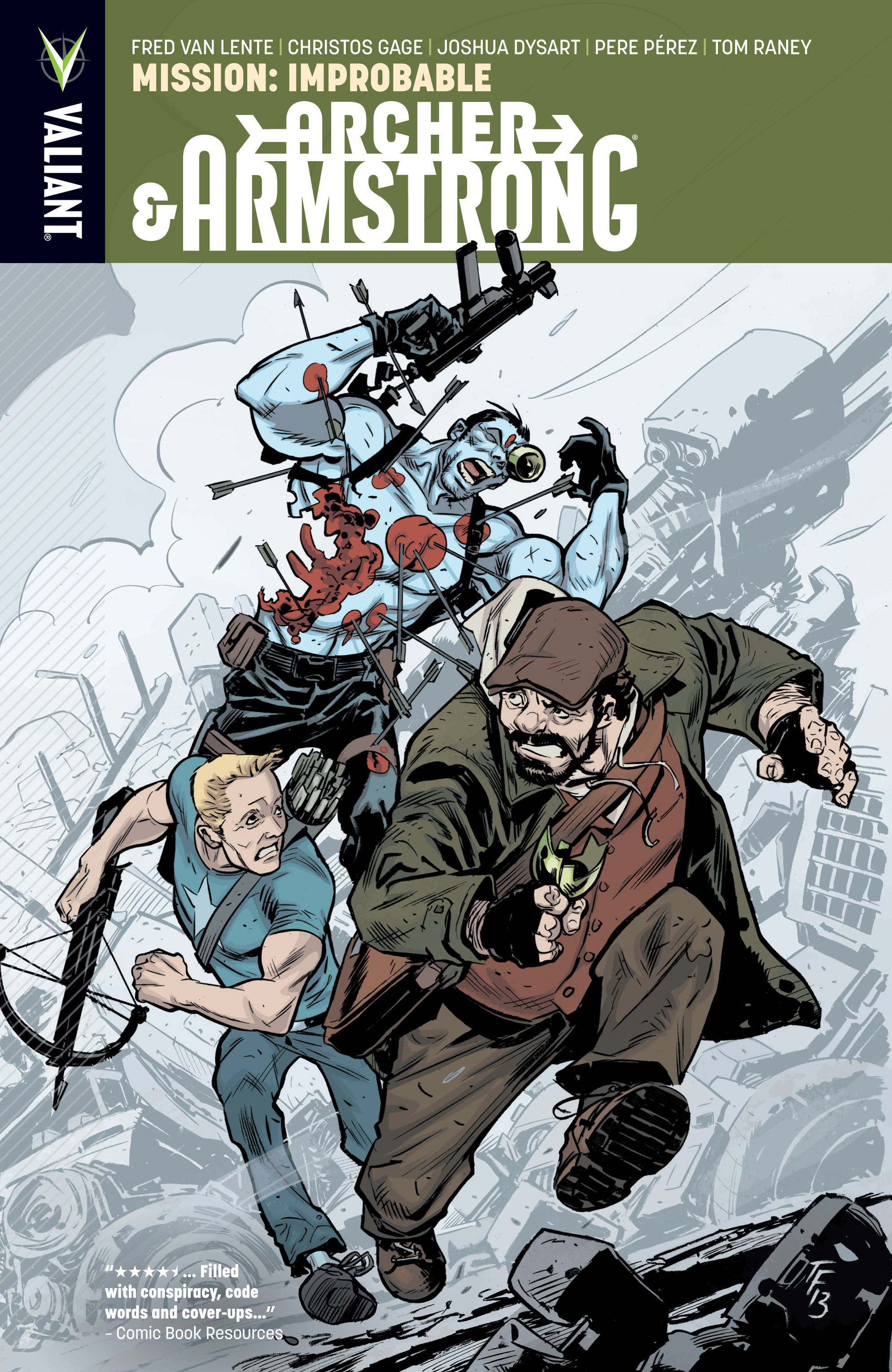 Read online Archer and Armstrong comic -  Issue #Archer and Armstrong _TPB 5 - 1