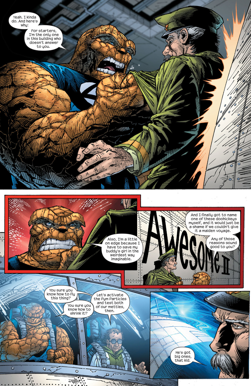 Read online Ultimate Fantastic Four (2004) comic -  Issue #59 - 7