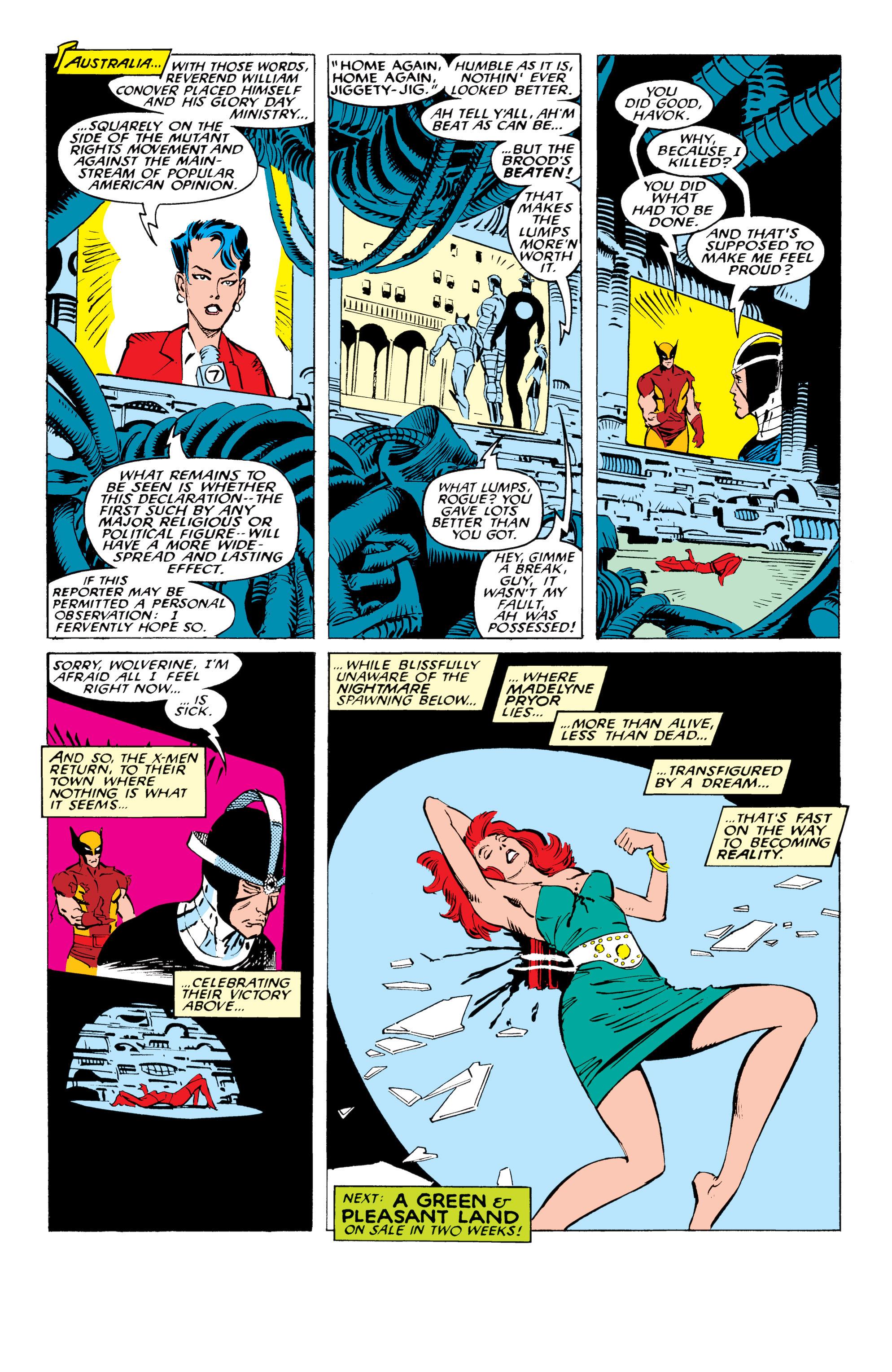 Read online Uncanny X-Men (1963) comic -  Issue #234 - 23