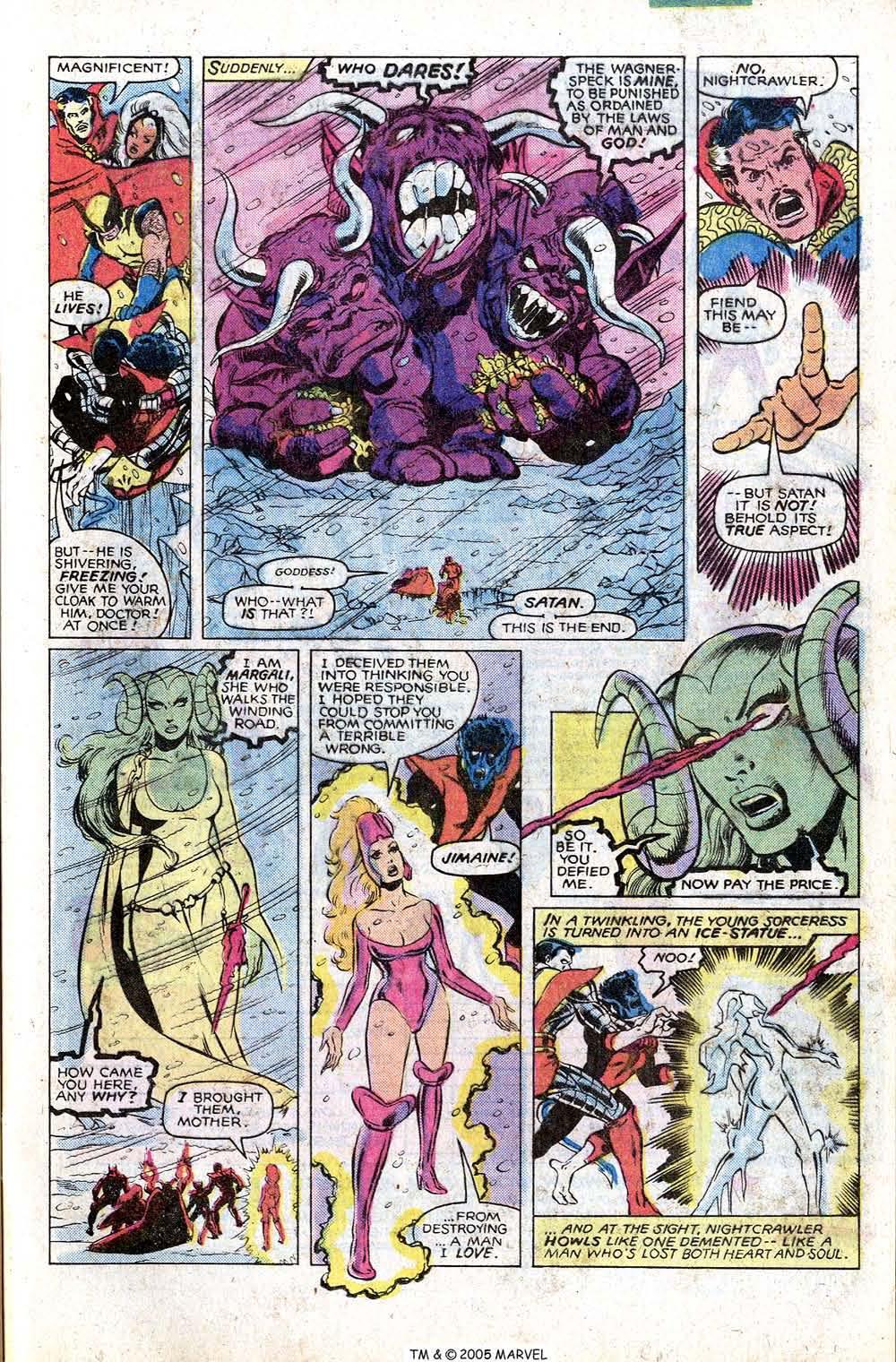 Read online Uncanny X-Men (1963) comic -  Issue # _Annual 4 - 41
