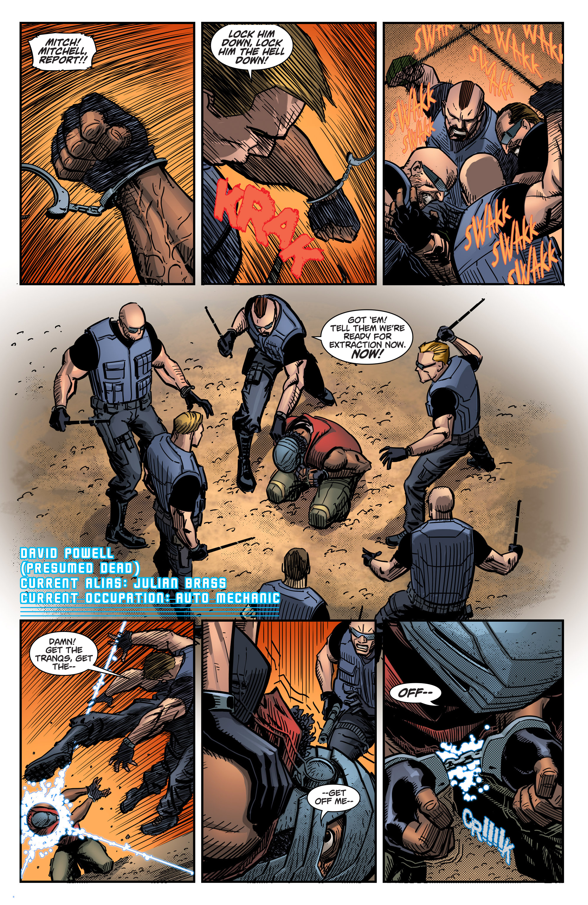 Read online Noble comic -  Issue #1 - 7