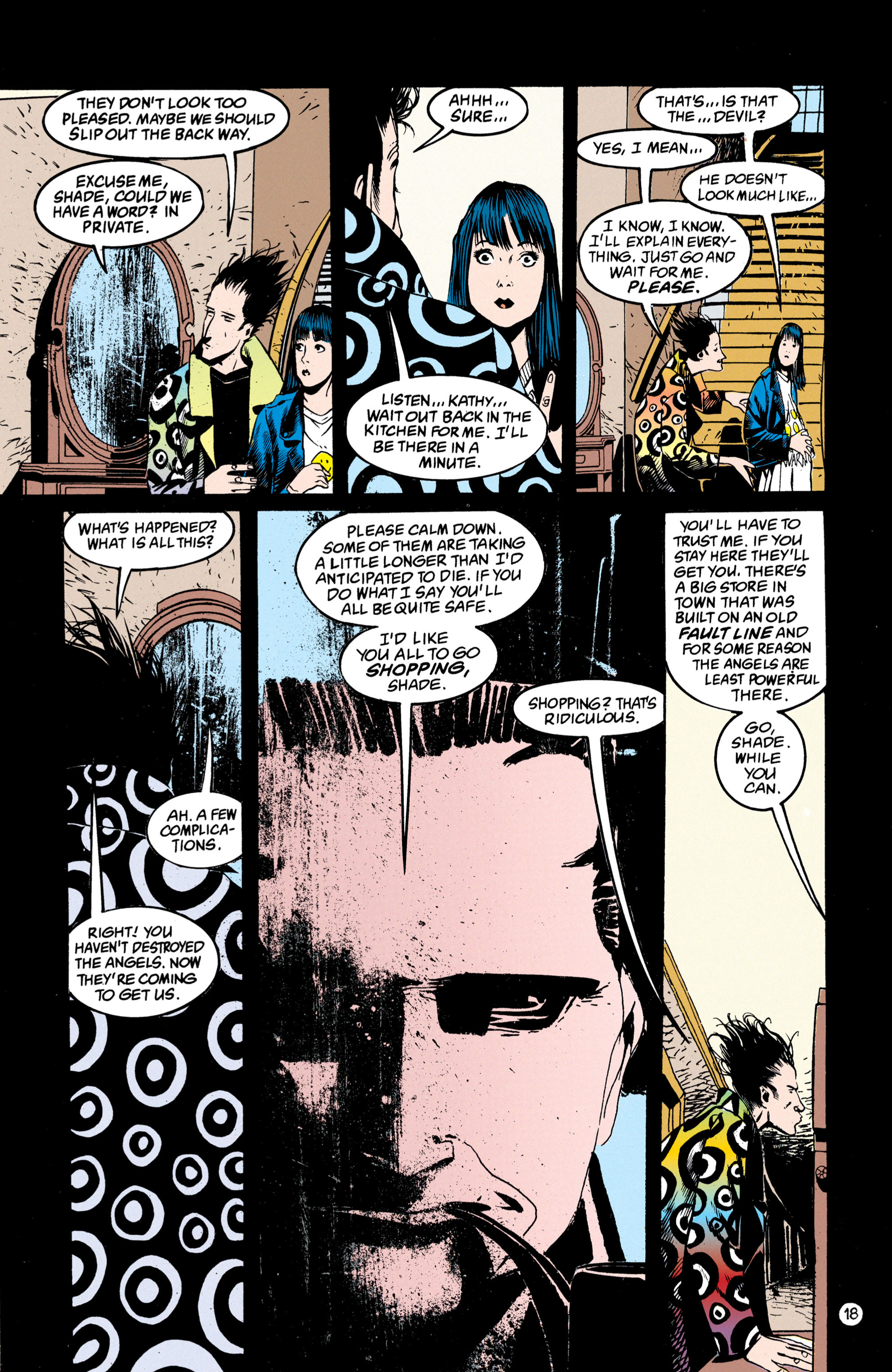 Read online Shade, the Changing Man comic -  Issue #50 - 19