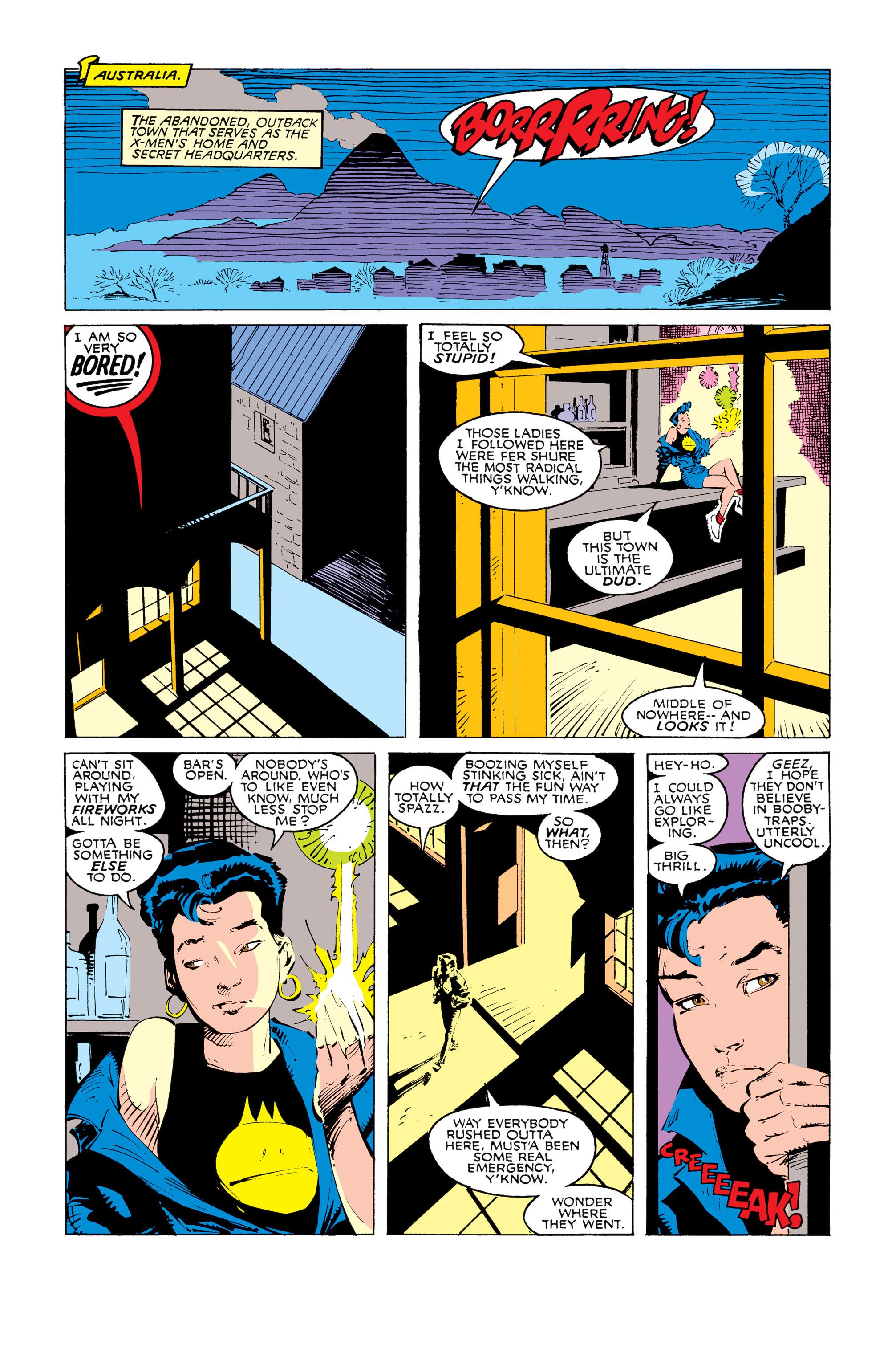 Read online Uncanny X-Men (1963) comic -  Issue #247 - 9