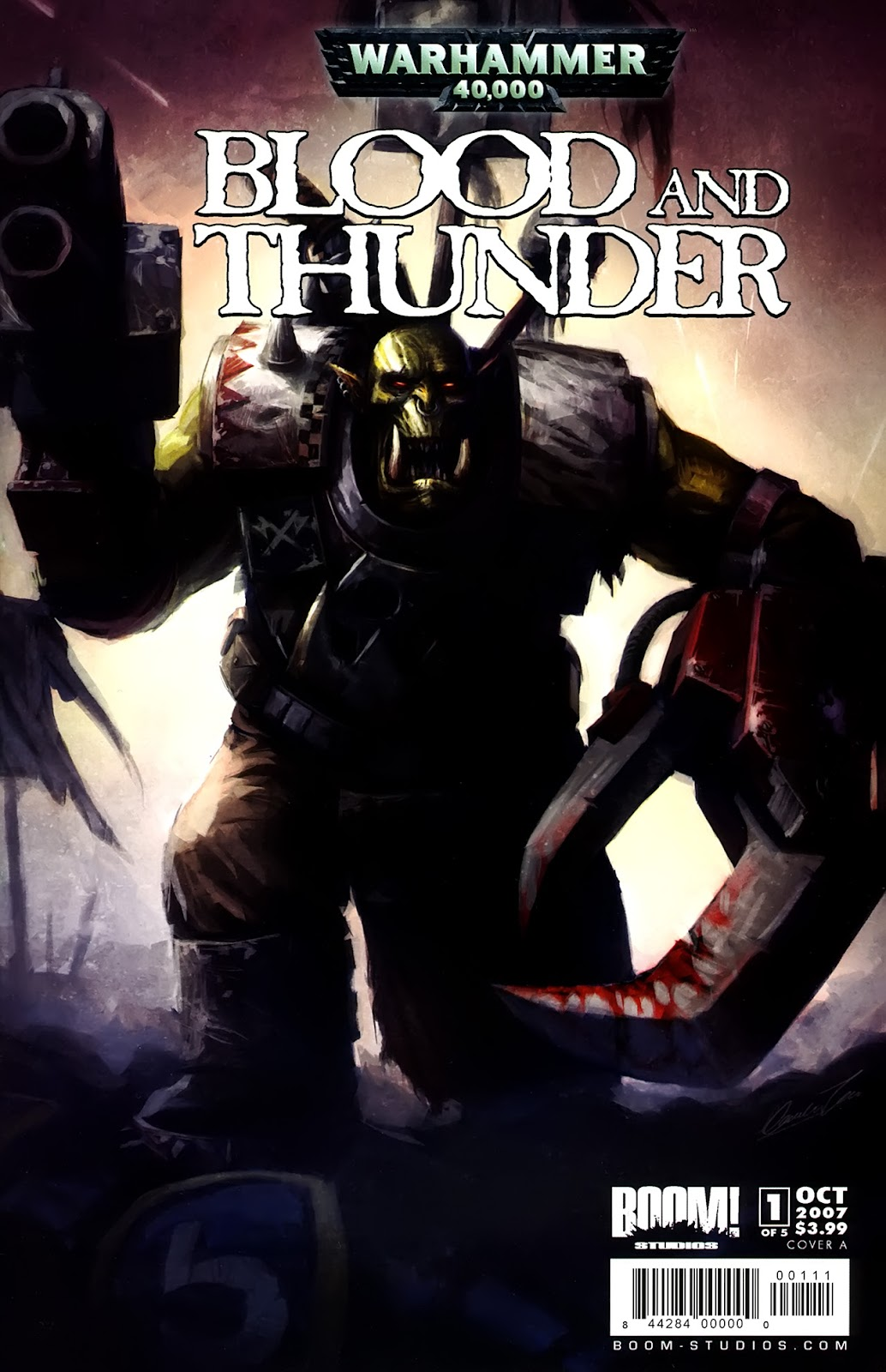 Warhammer 40,000: Blood and Thunder issue 1 - Page 1