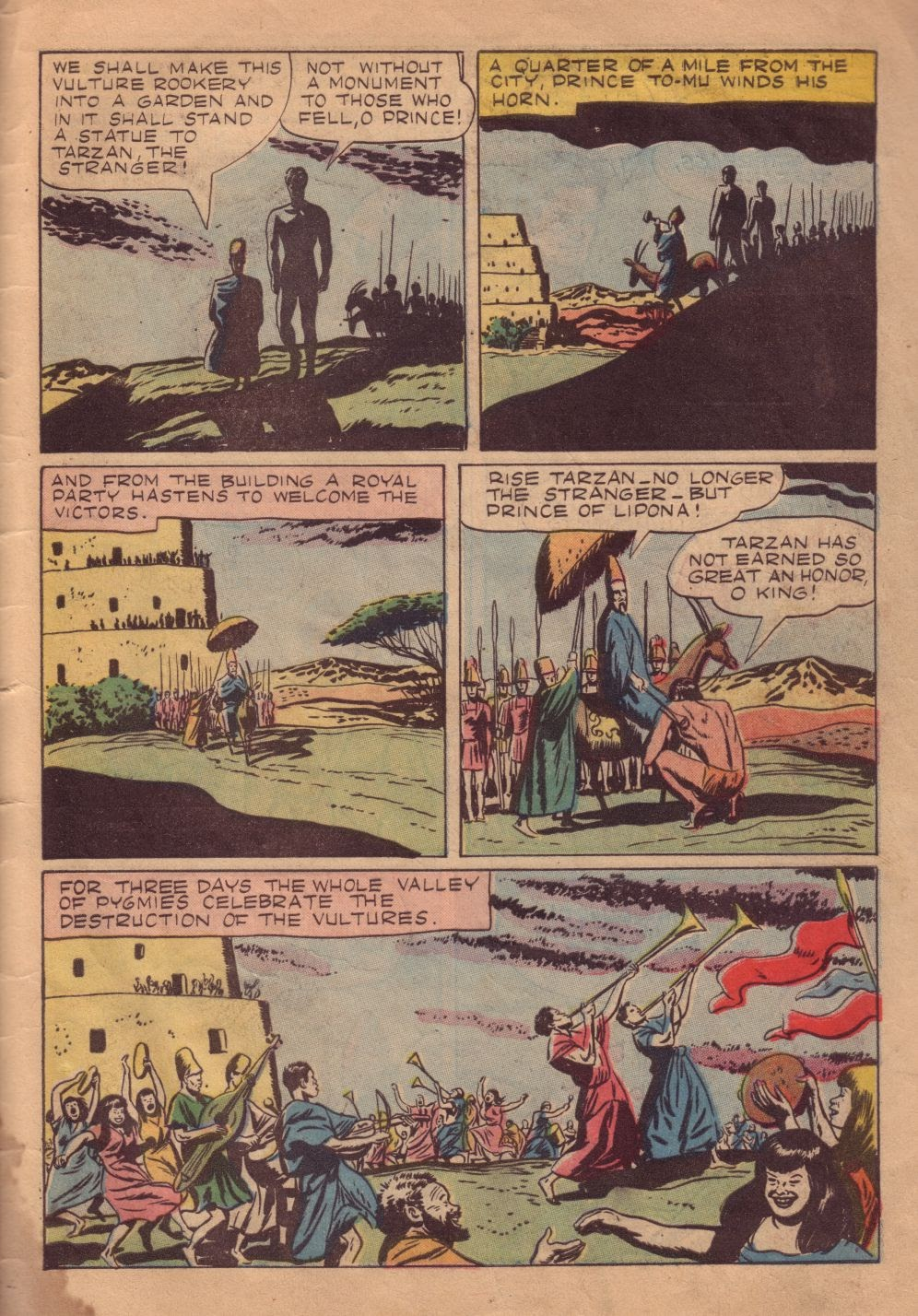 Tarzan (1948) issue 8 - Page 31