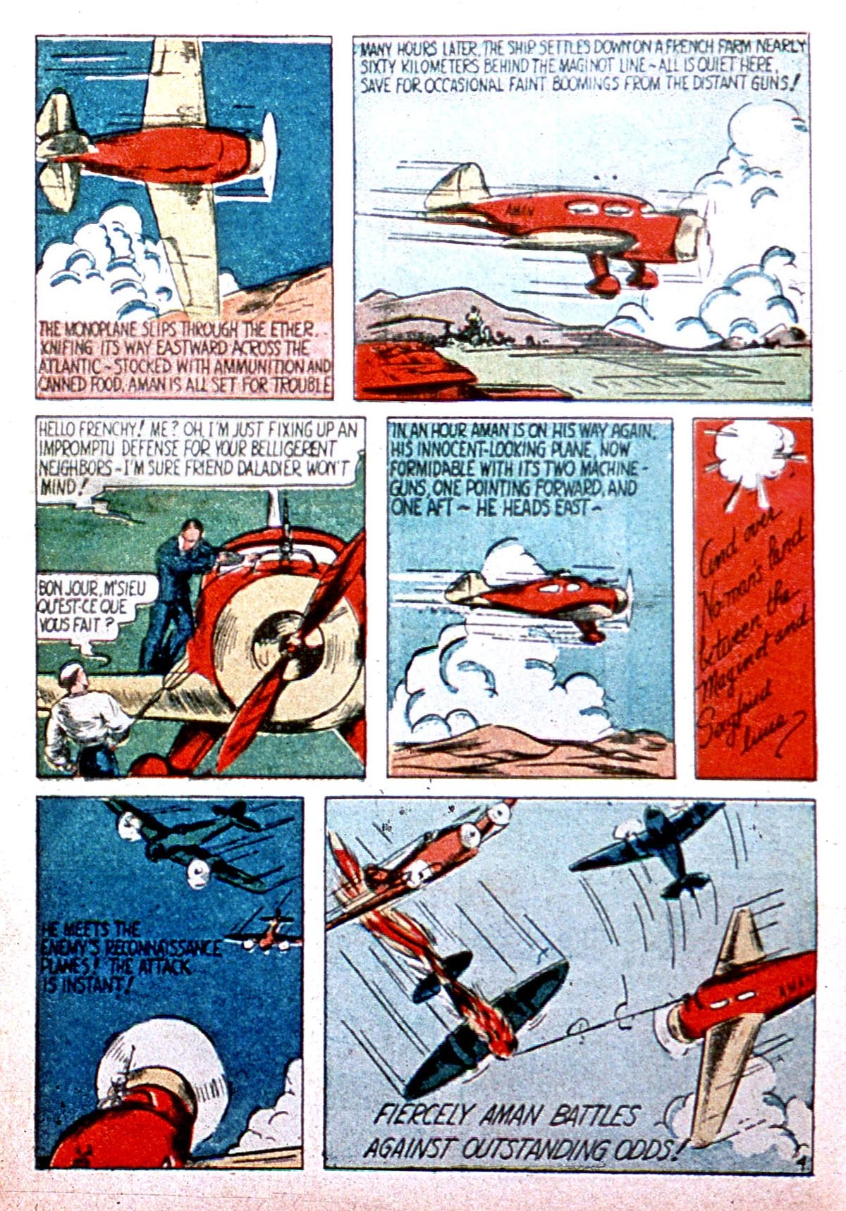 Read online Amazing Man Comics comic -  Issue #8 - 6