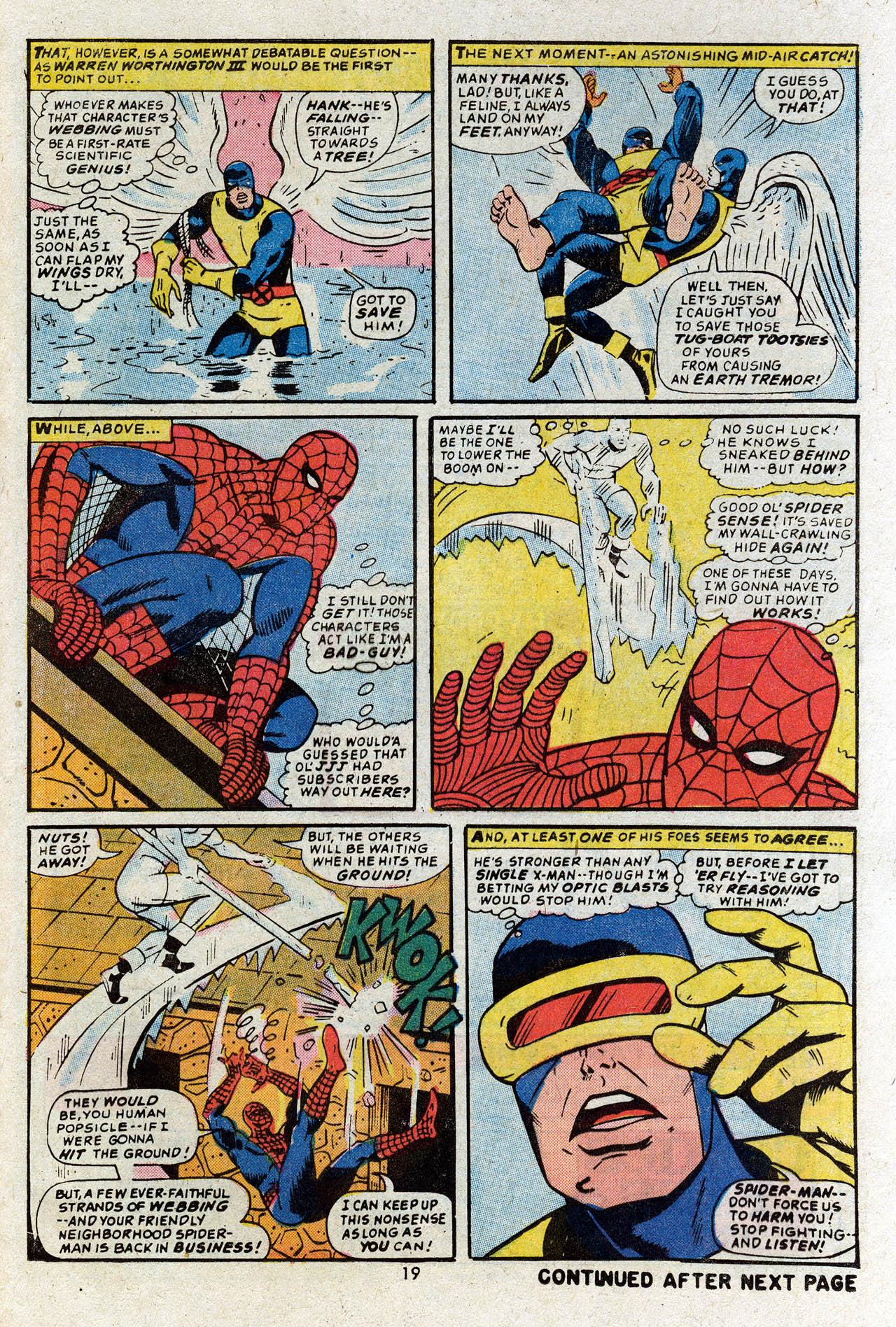 Read online Uncanny X-Men (1963) comic -  Issue #83 - 21