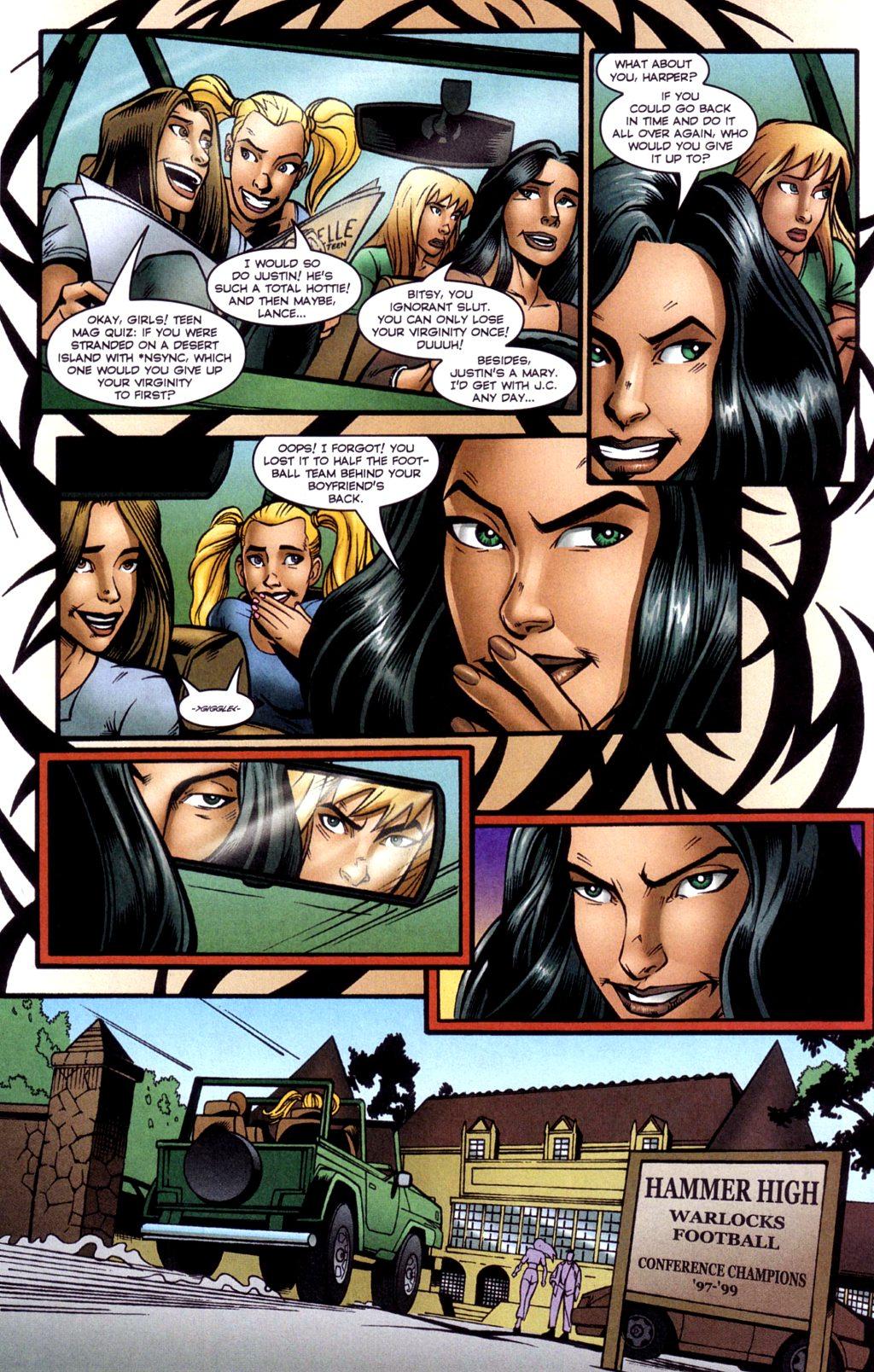 Read online Jezebelle comic -  Issue #2 - 11
