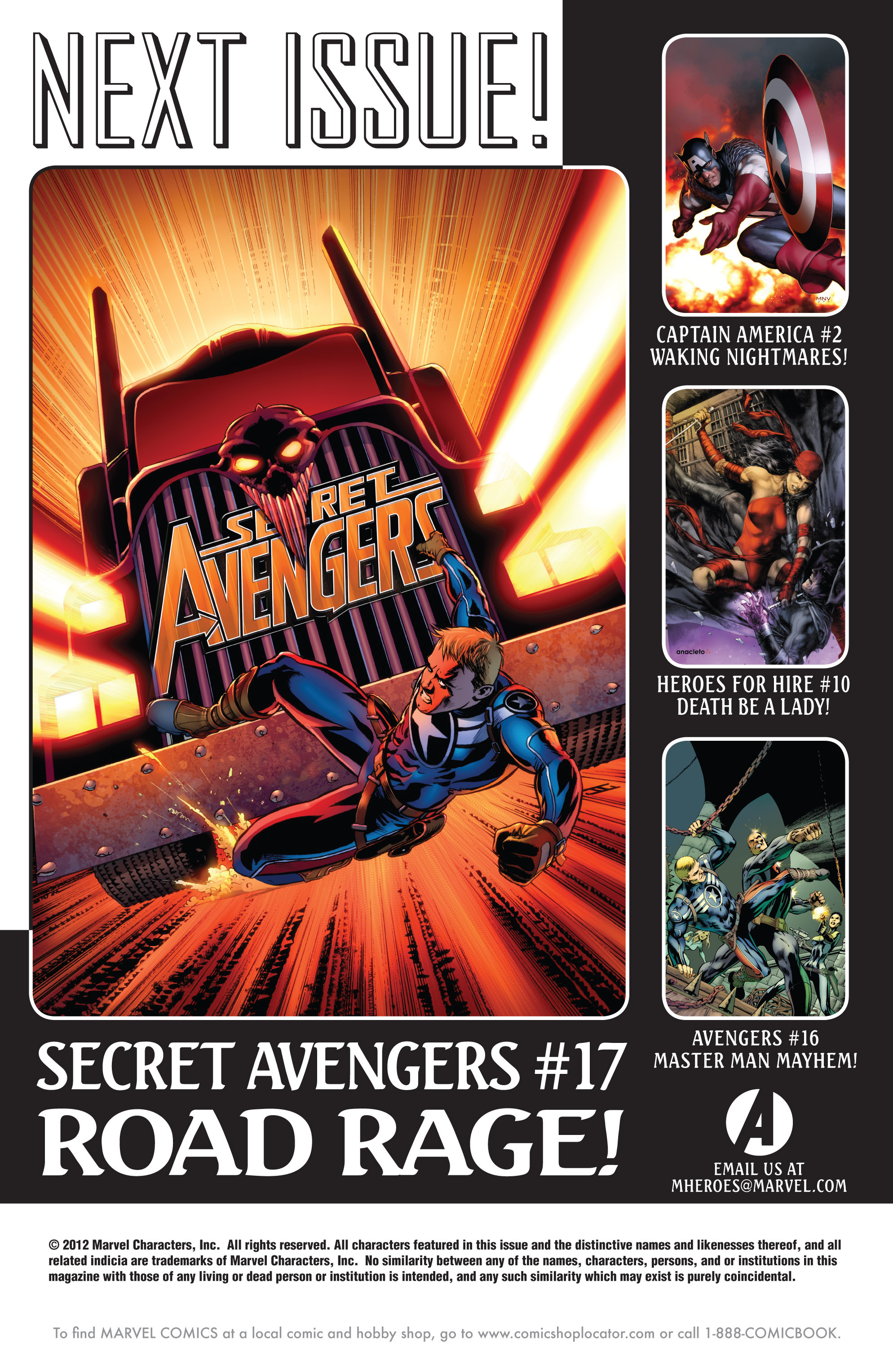Read online Secret Avengers (2010) comic -  Issue #16 - 24