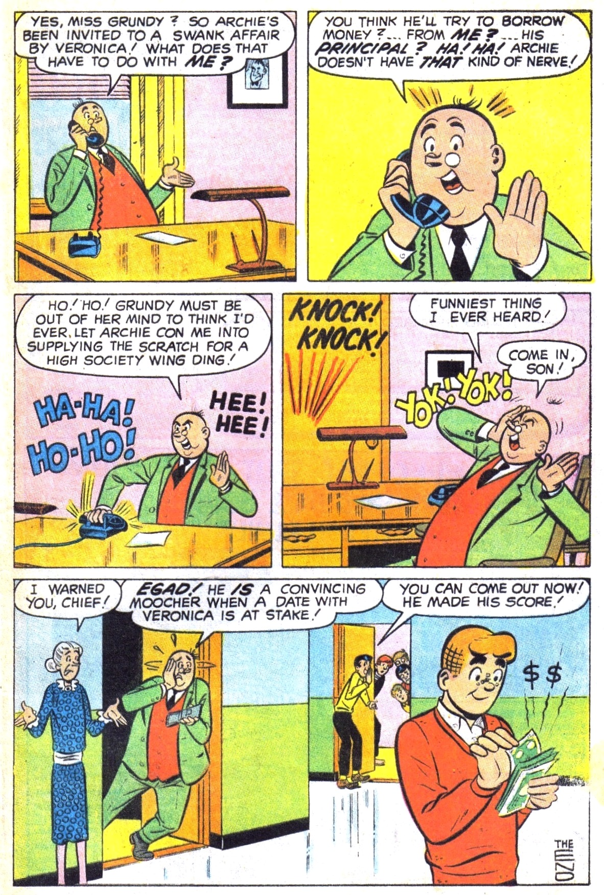 Read online Archie (1960) comic -  Issue #191 - 33