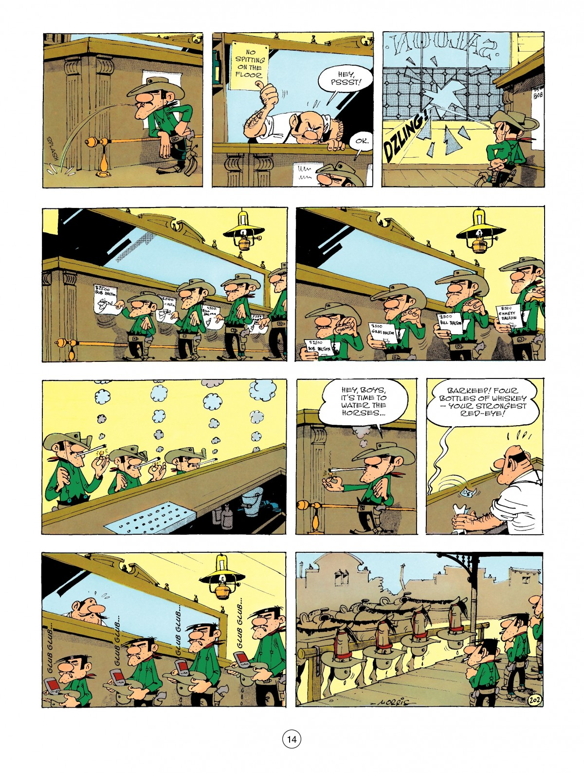 Read online A Lucky Luke Adventure comic -  Issue #47 - 14