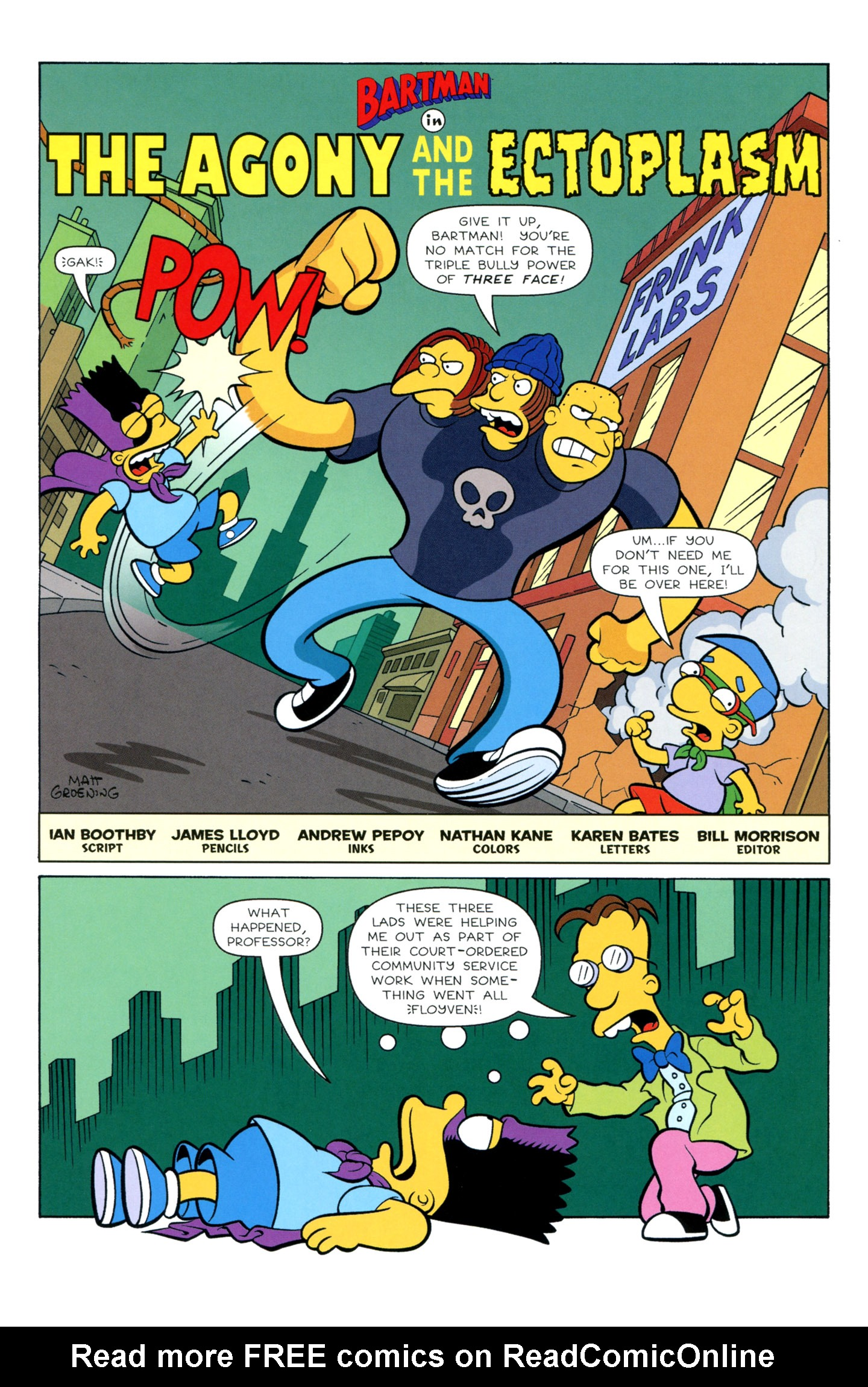 Read online Simpsons Illustrated (1991) comic -  Issue #3 - 32