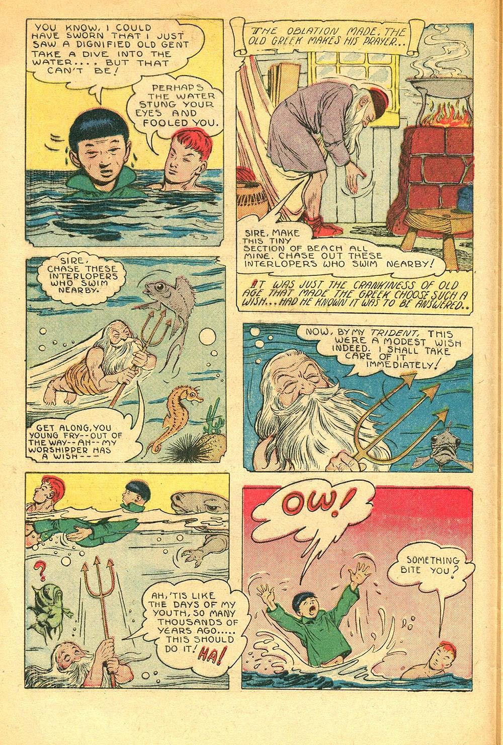 Read online Super-Magician Comics comic -  Issue #56 - 6