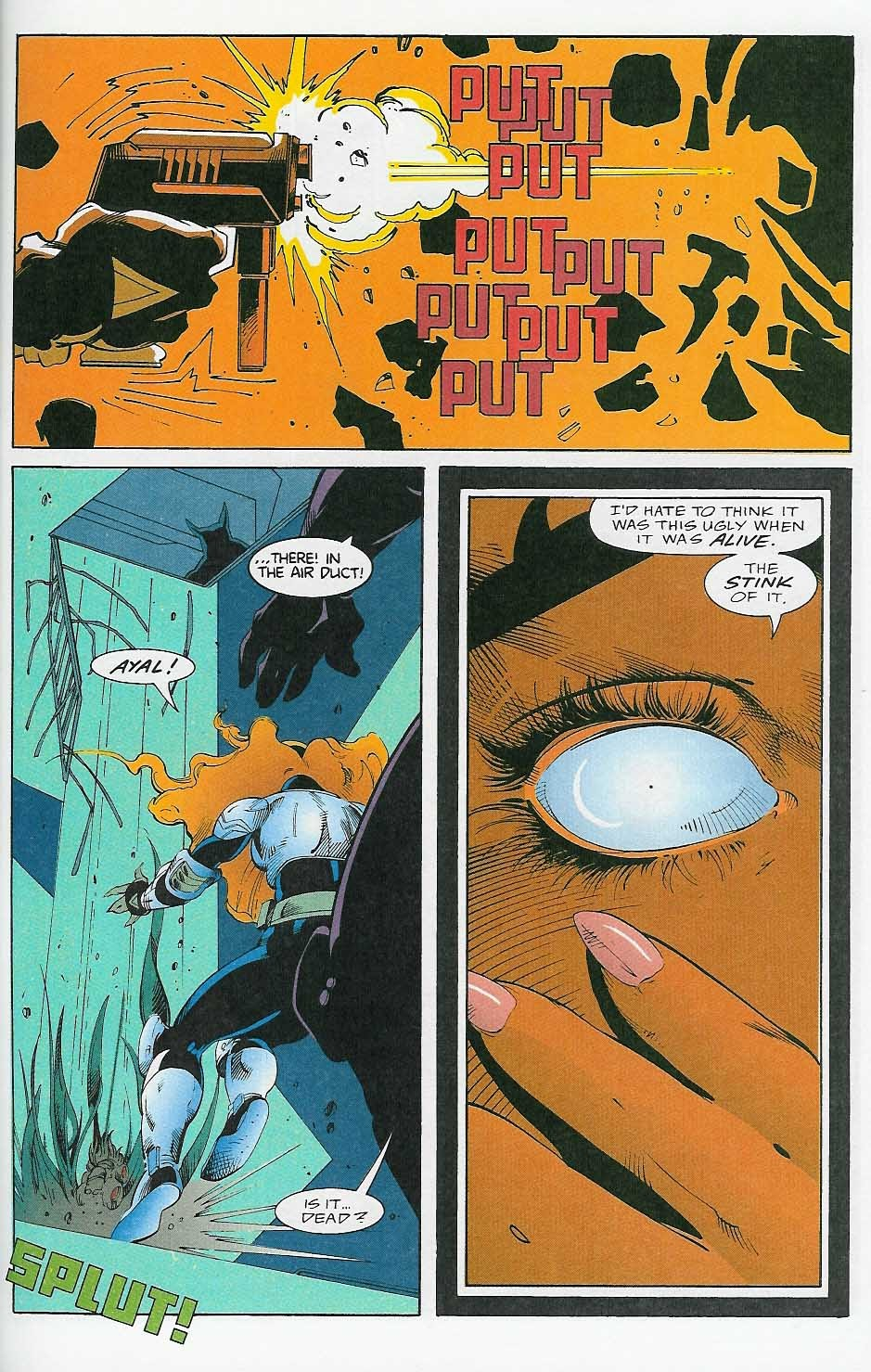 Alien Legion: On the Edge issue 2 - Page 34