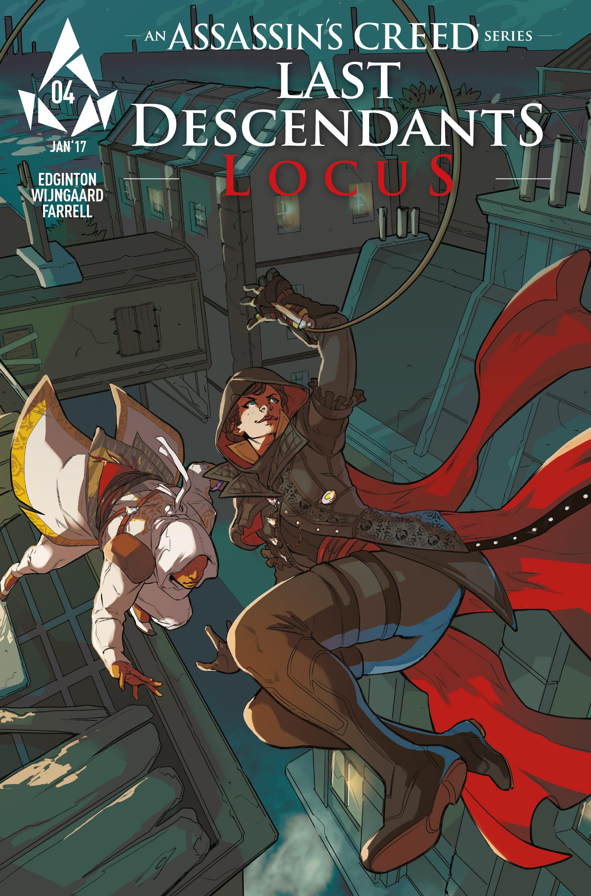 Read online Assassin's Creed: Locus comic -  Issue #4 - 2