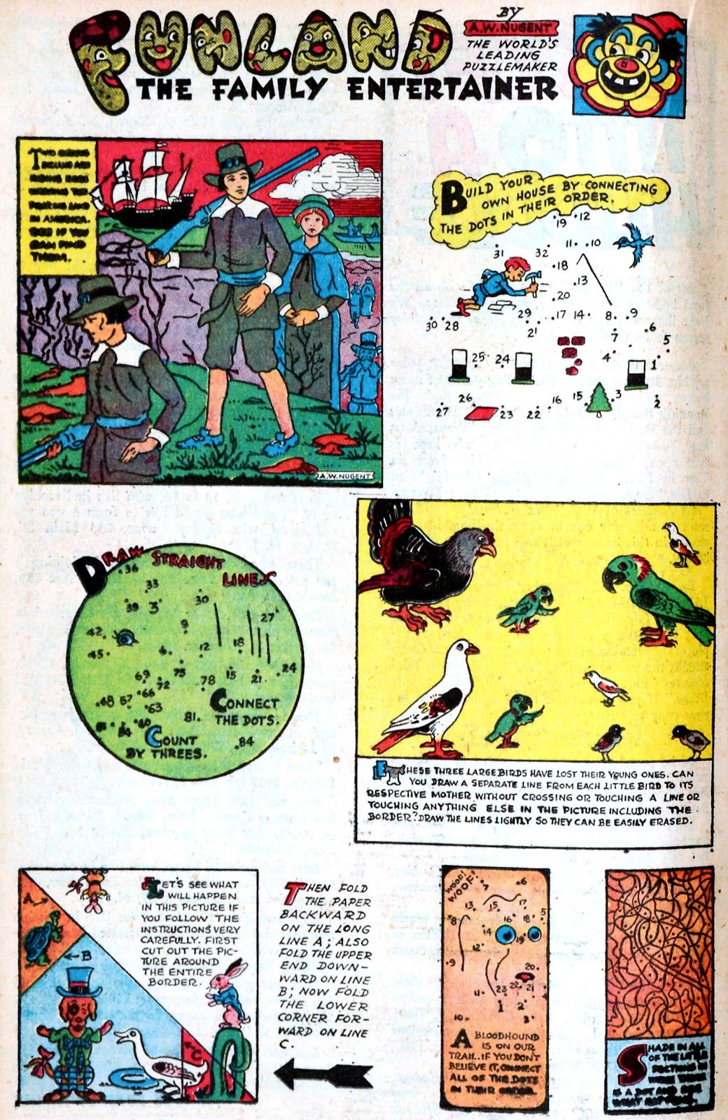 Read online Famous Funnies comic -  Issue #149 - 28