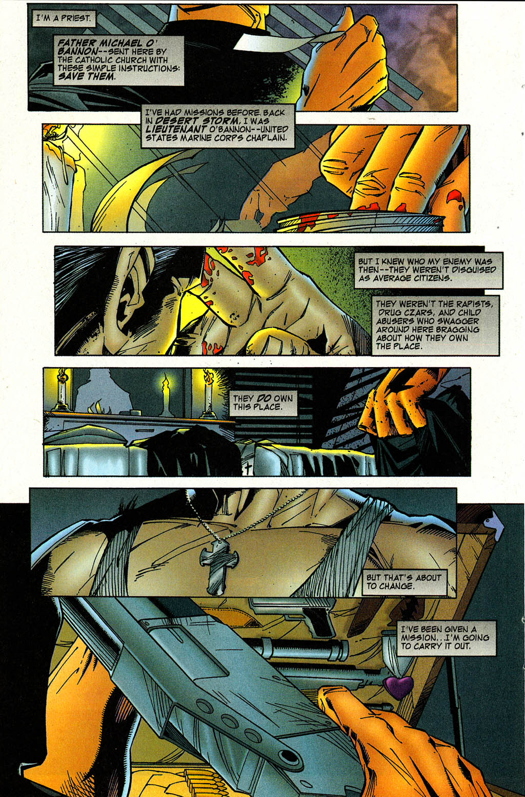 Read online Avengelyne (1996) comic -  Issue #3 - 32
