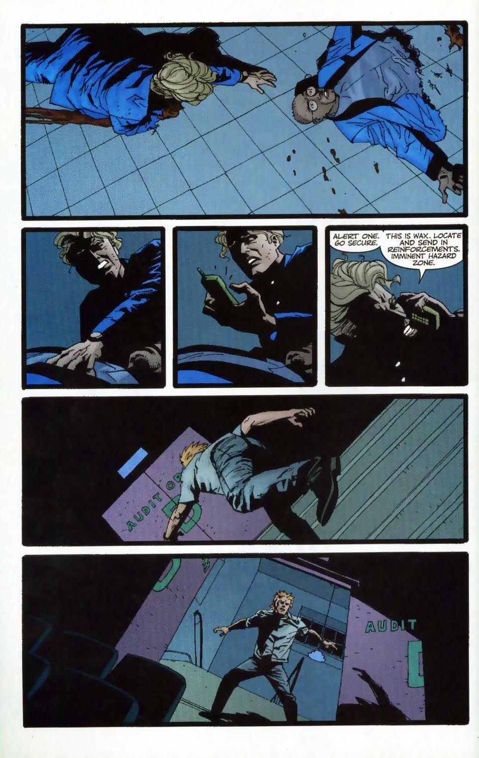 Wildcats (1999) Issue #19 #20 - English 13