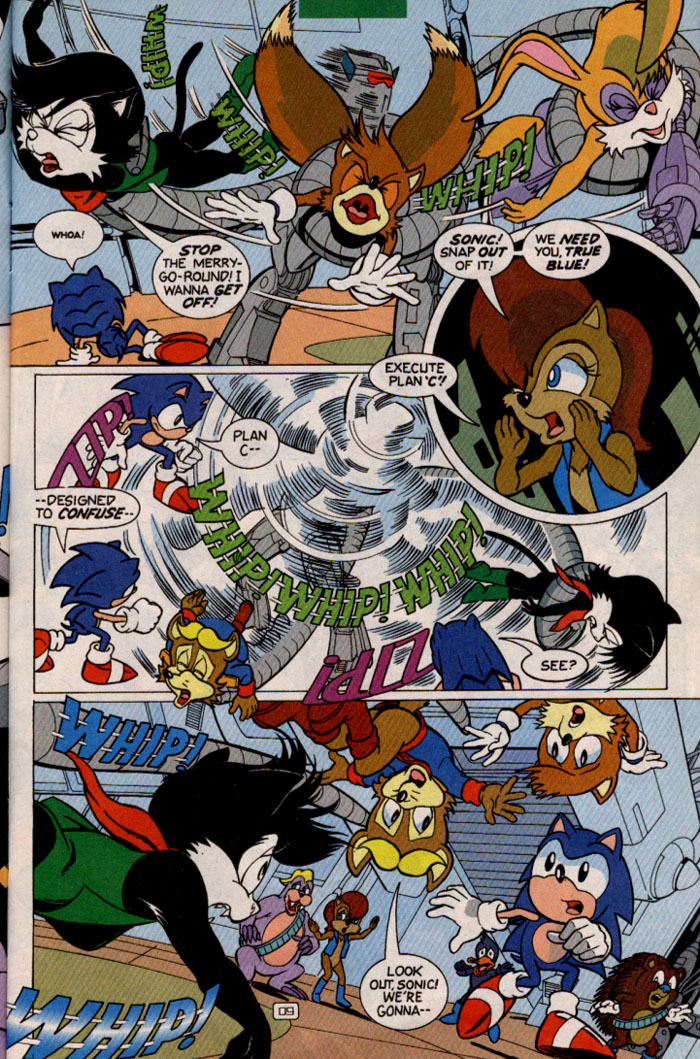 Read online Sonic Super Special comic -  Issue #2 - Brave new world - 11