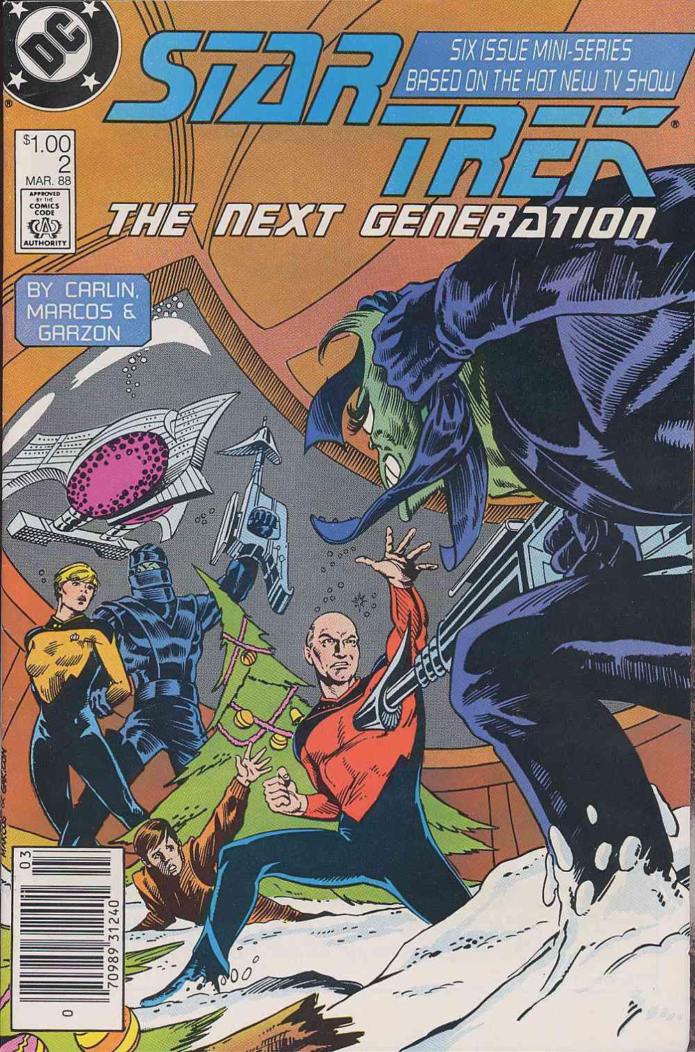 Star Trek: The Next Generation (1988) issue 2 - Page 1