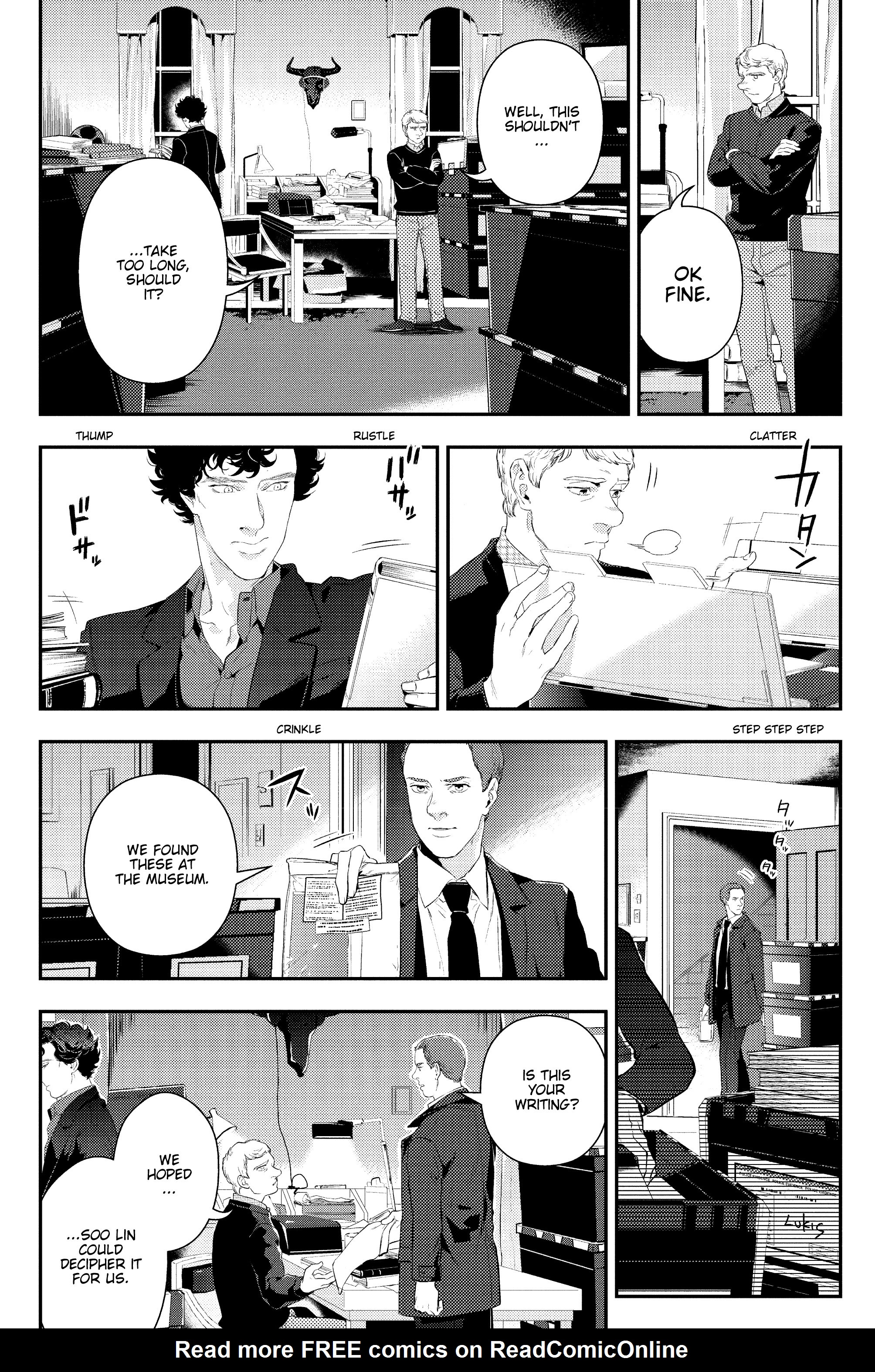 Read online Sherlock: The Blind Banker comic -  Issue #5 - 9