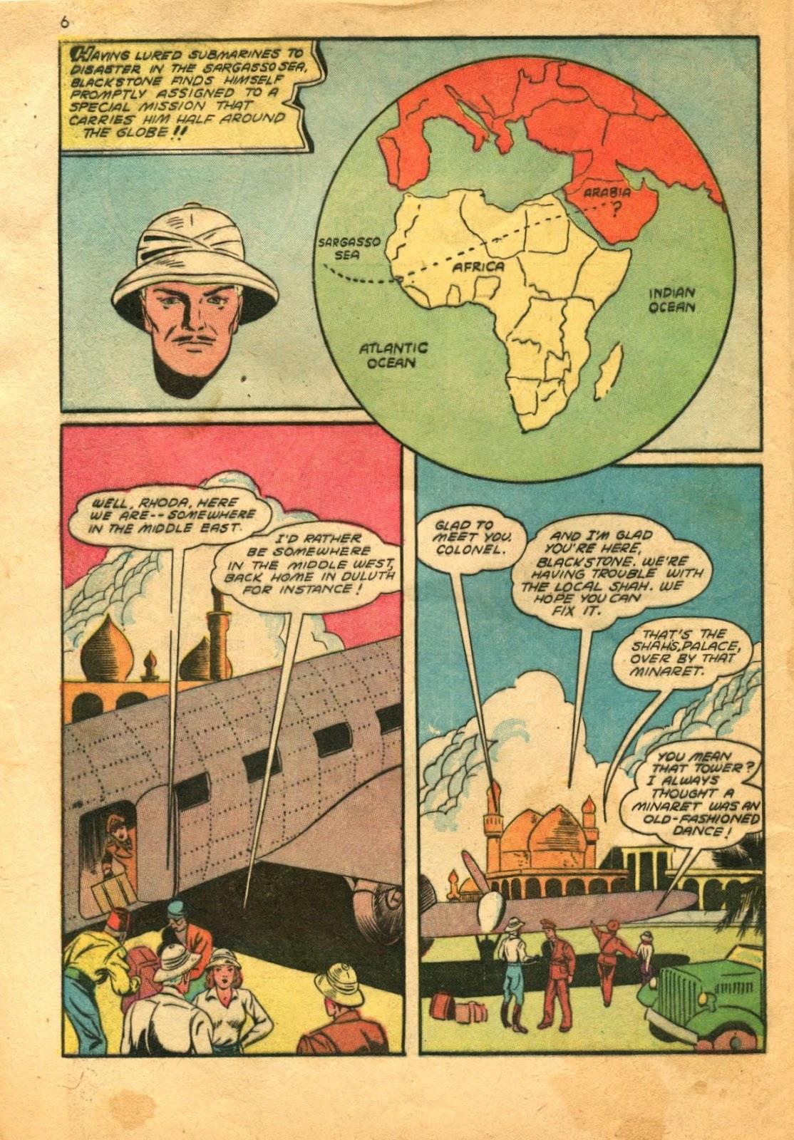 Read online Super-Magician Comics comic -  Issue #11 - 6