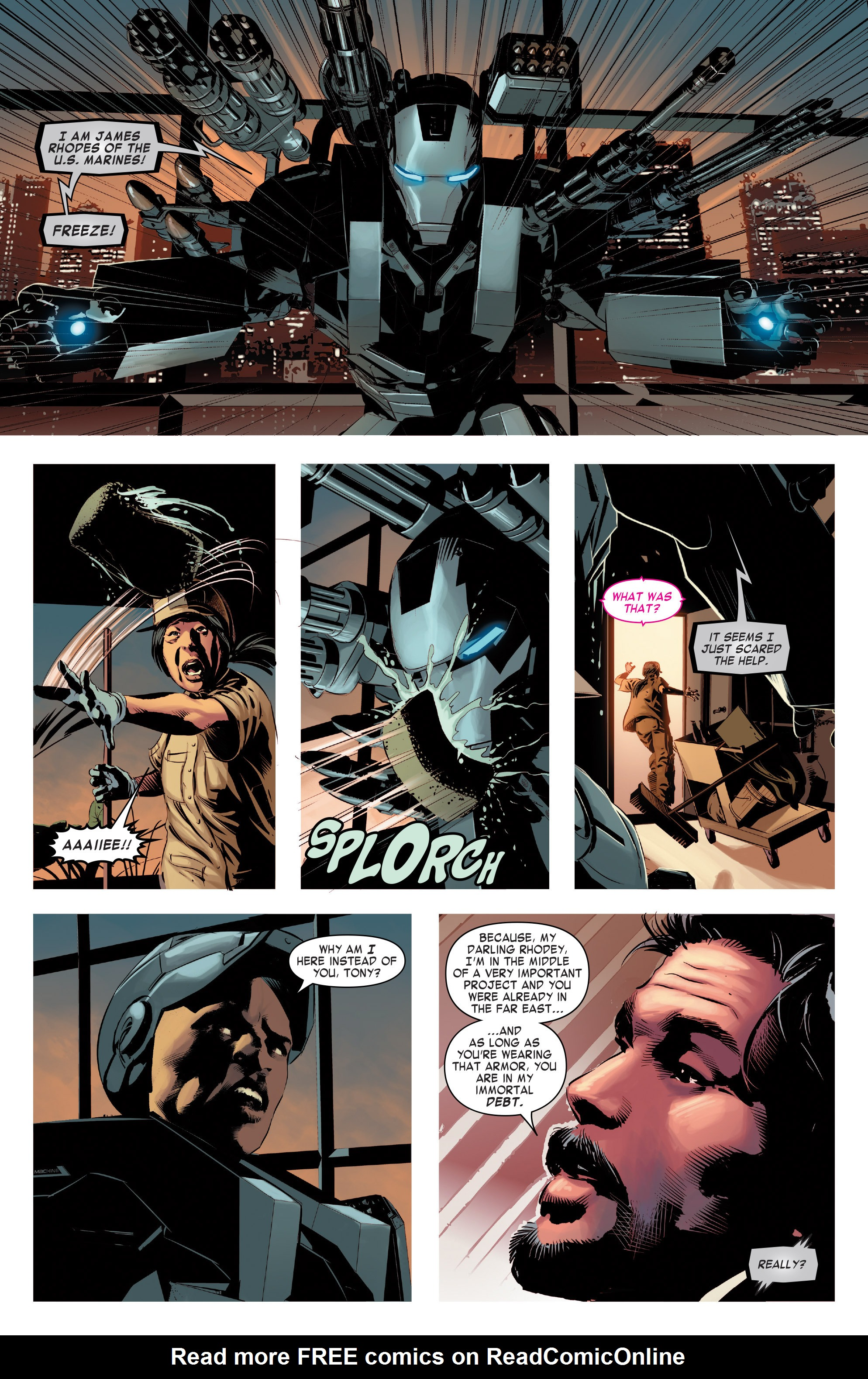 Read online True Believers: Invincible Iron Man-The War Machines comic -  Issue # Full - 8