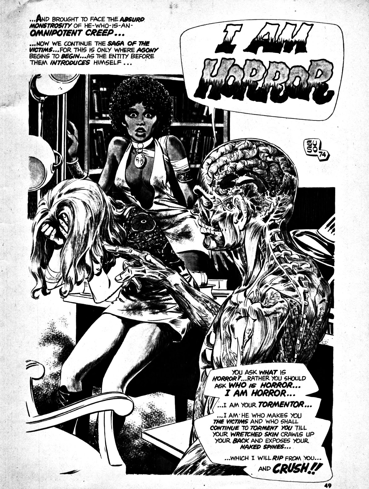 Scream (1973) issue 7 - Page 48