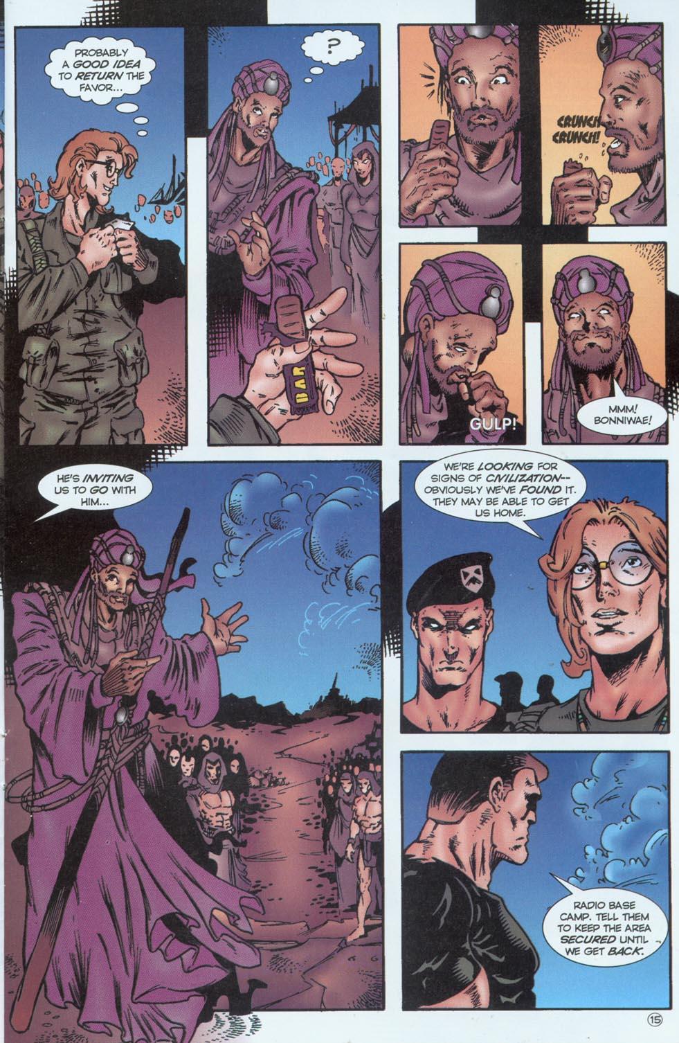 Read online Stargate comic -  Issue #1 - 17