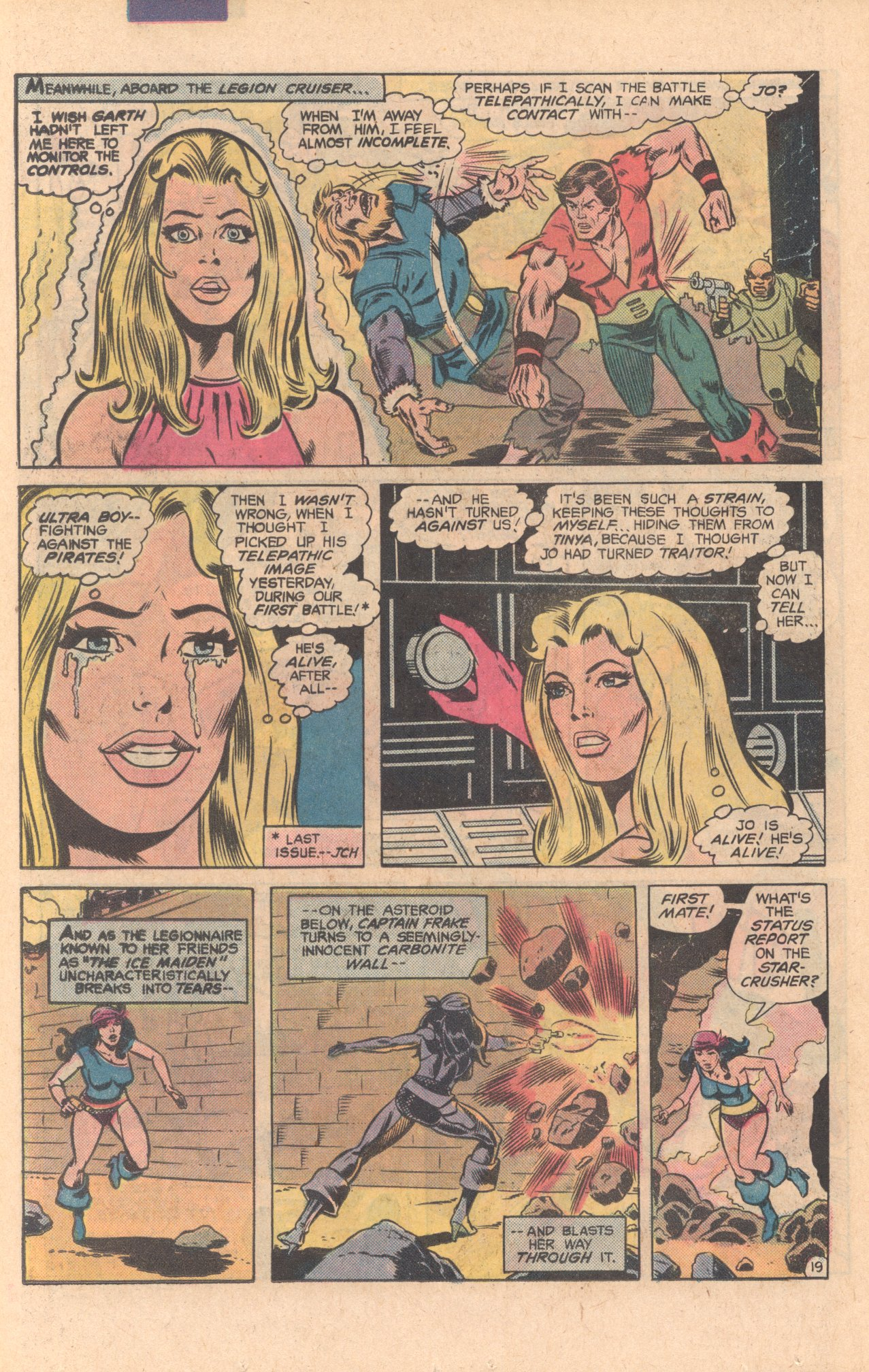 Legion of Super-Heroes (1980) 275 Page 19