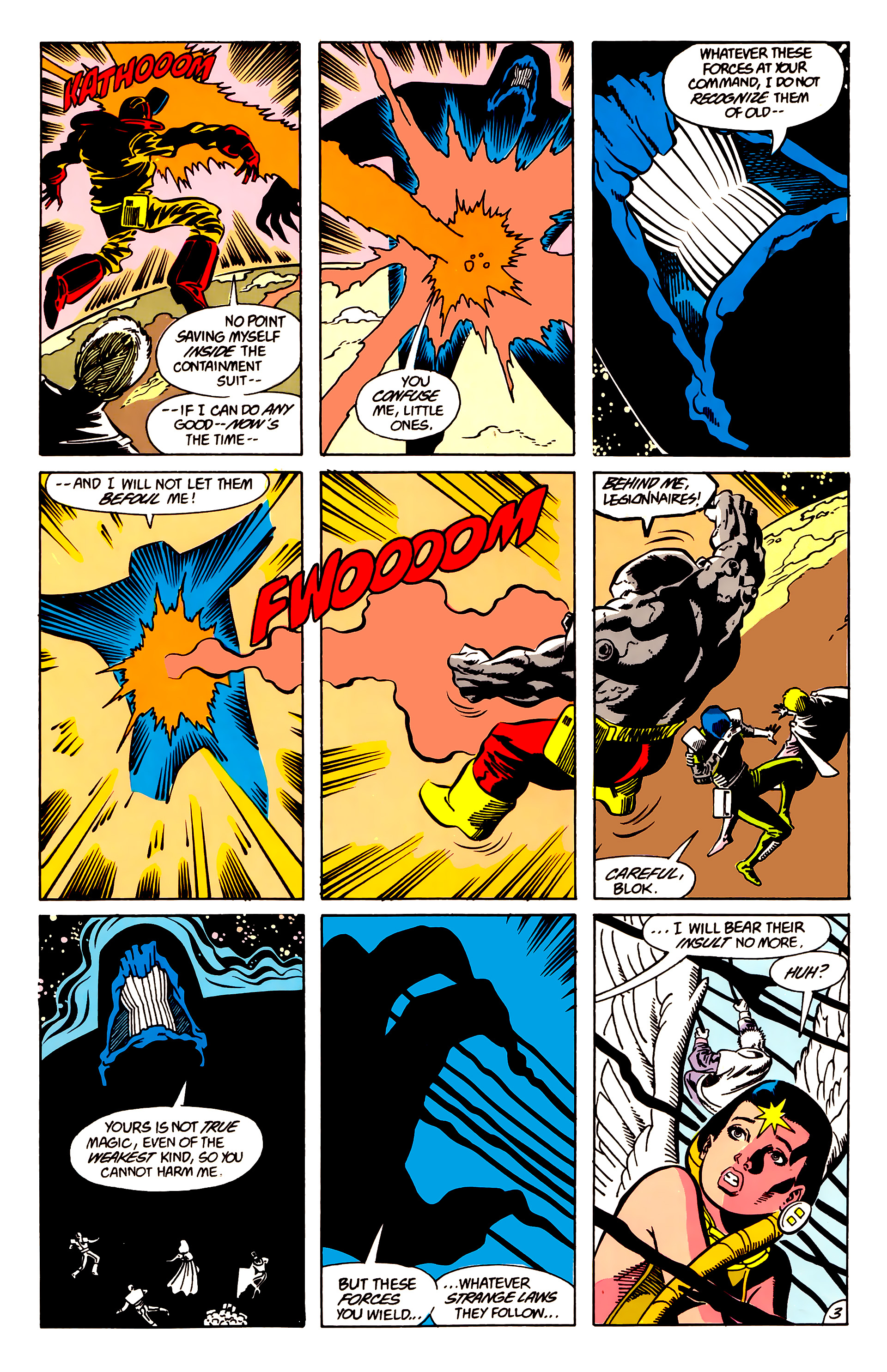 Legion of Super-Heroes (1984) 63 Page 3
