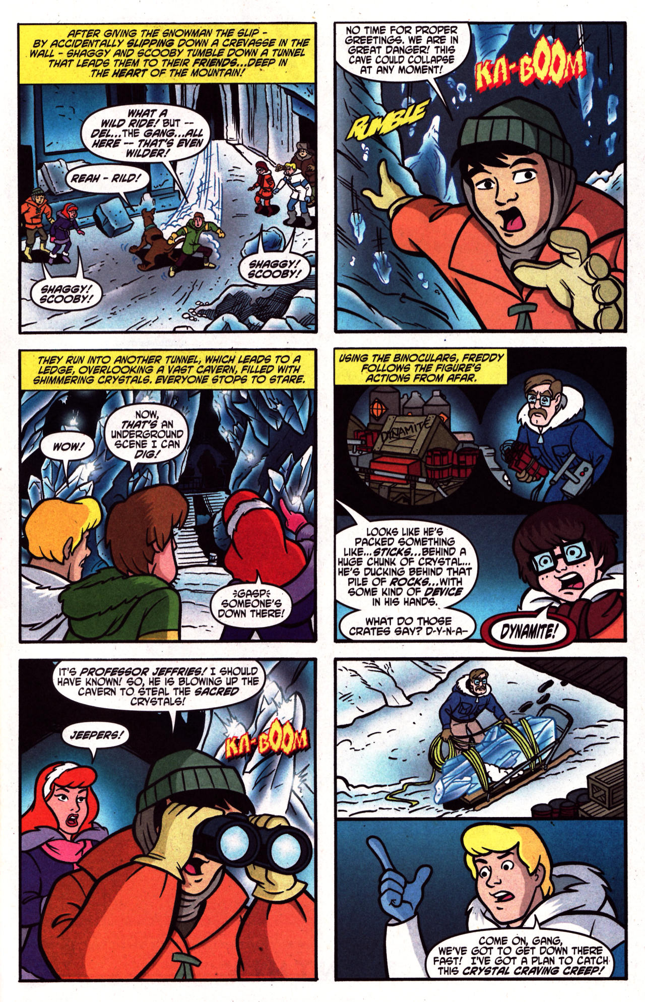 Read online Scooby-Doo (1997) comic -  Issue #124 - 17