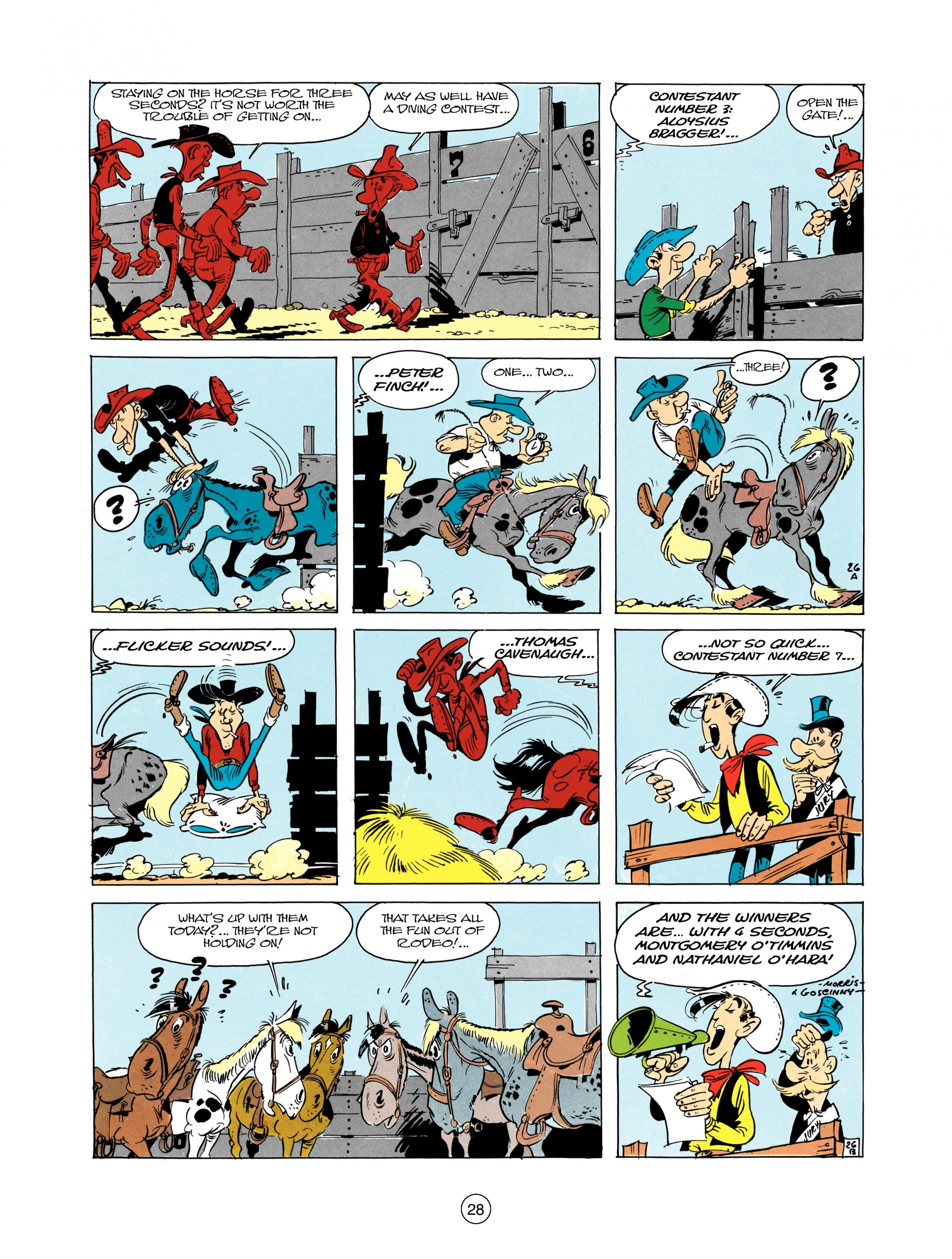 Read online A Lucky Luke Adventure comic -  Issue #12 - 28