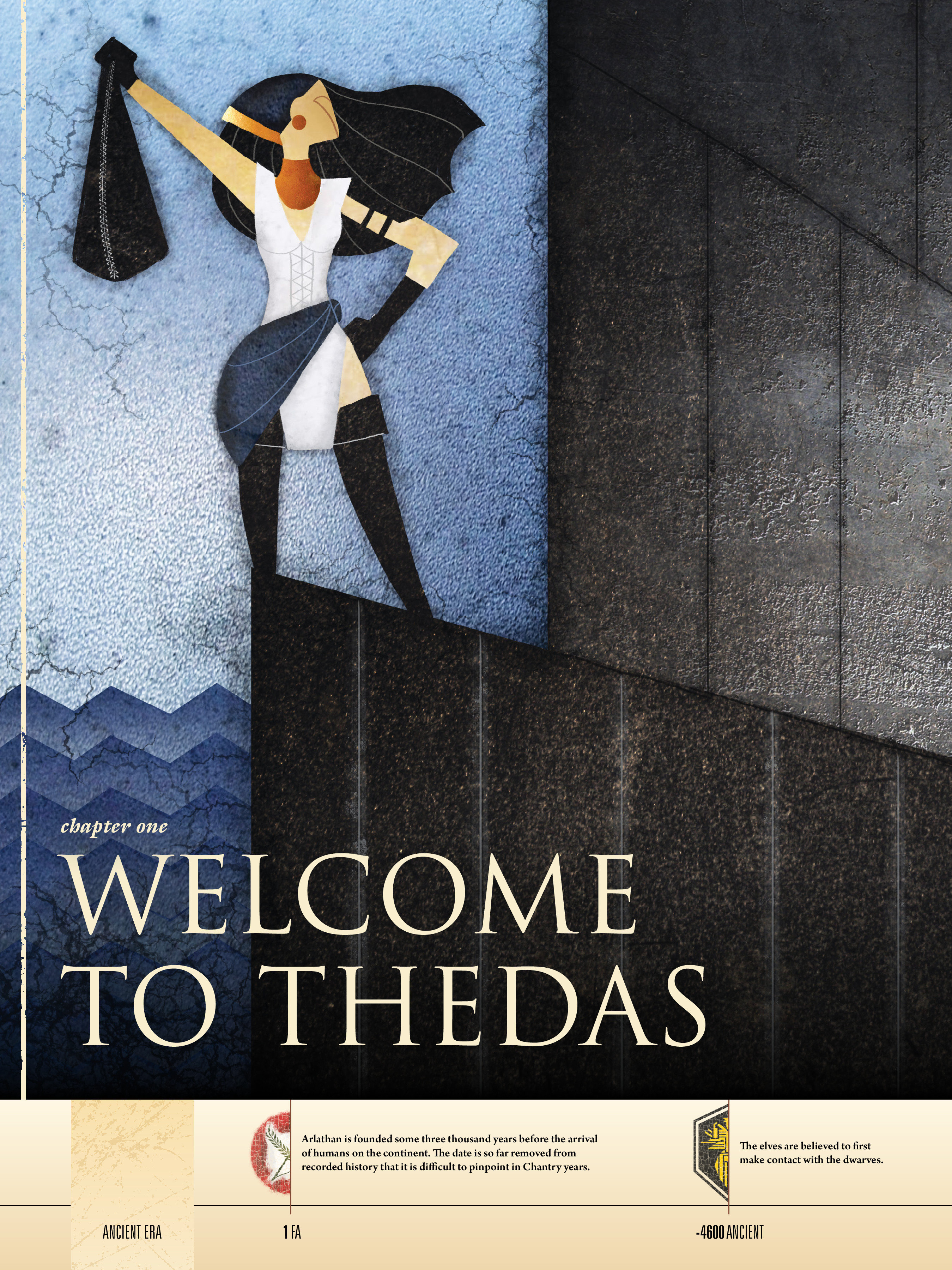 Read online Dragon Age: The World of Thedas comic -  Issue # TPB 1 - 8