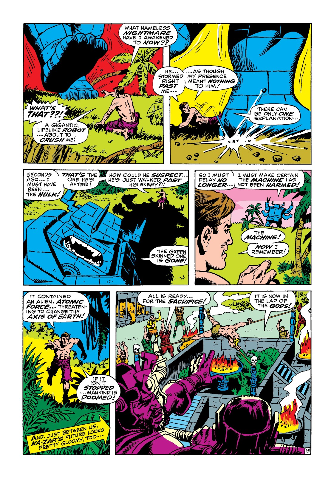 Read online Marvel Masterworks: The Incredible Hulk comic -  Issue # TPB 4 (Part 3) - 22