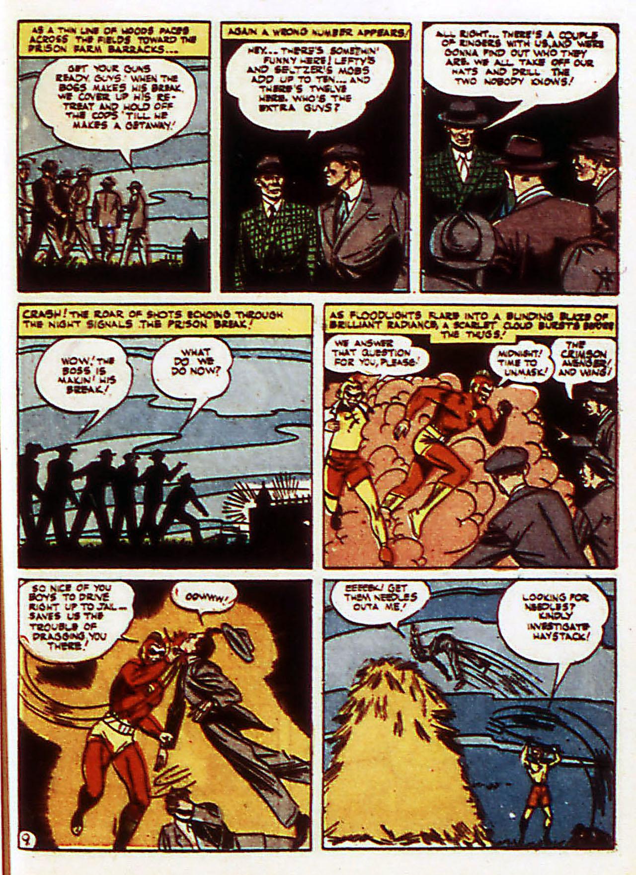 Read online Detective Comics (1937) comic -  Issue #72 - 40