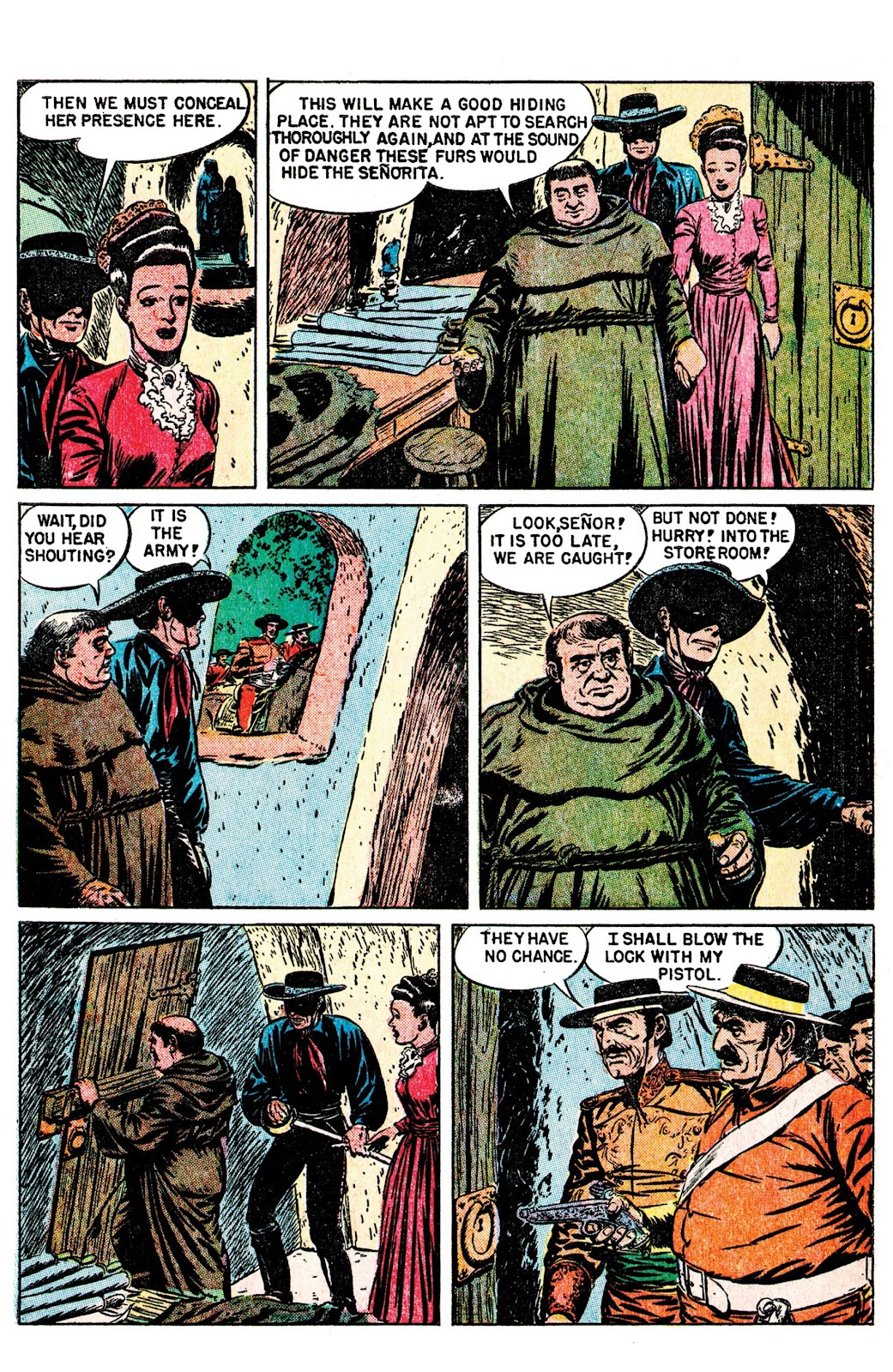 Read online AM Archives: The Mark of Zorro #1 1949 Dell Edition comic -  Issue #1 1949 Dell Edition Full - 30