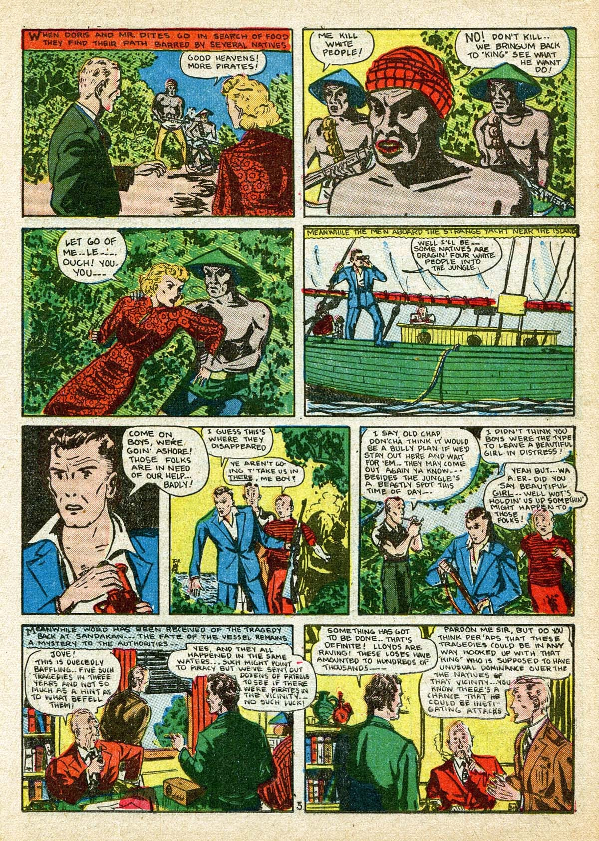 Read online Amazing Man Comics comic -  Issue #8 - 19