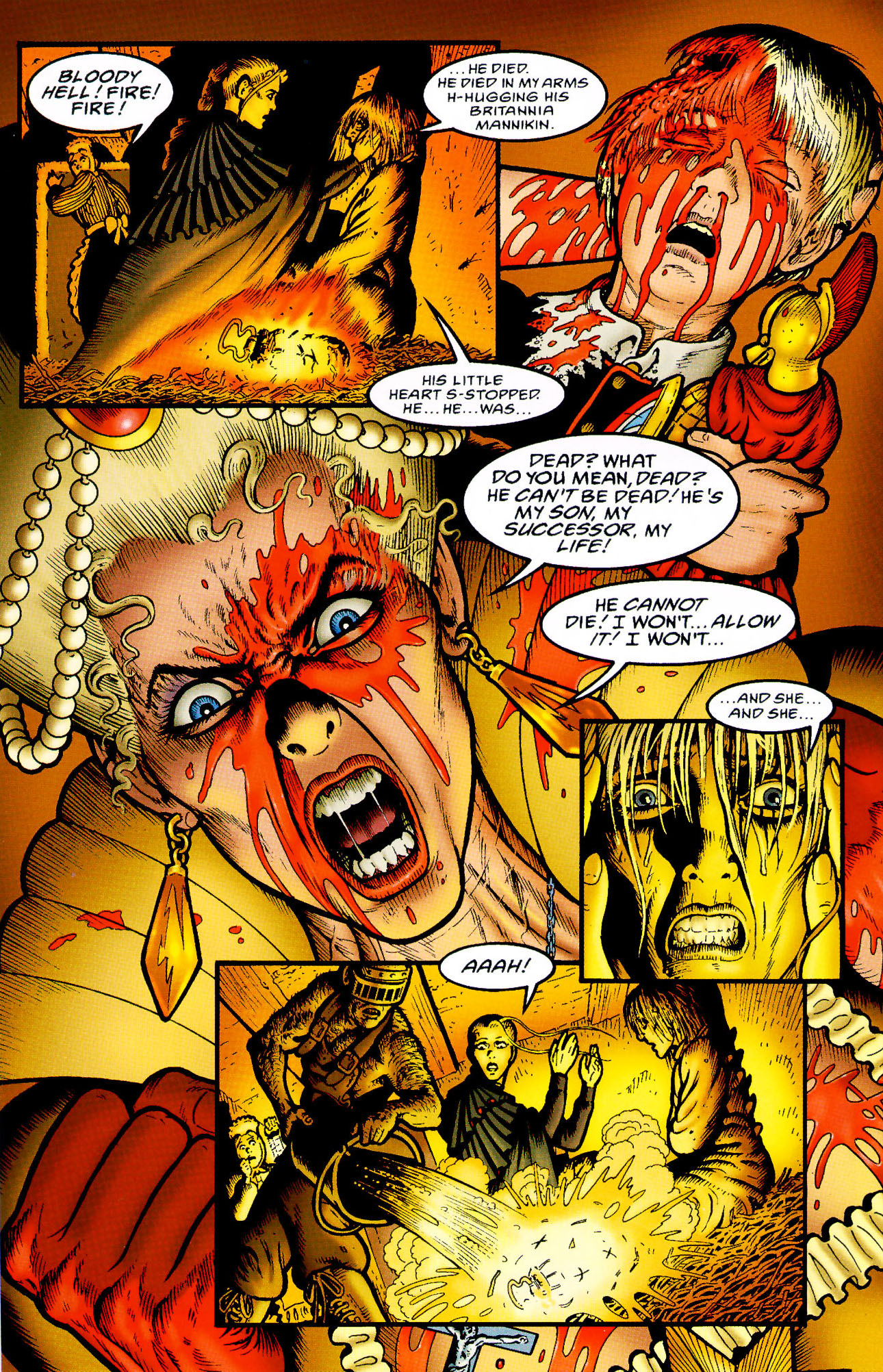 Read online Heart of Empire comic -  Issue #5 - 22