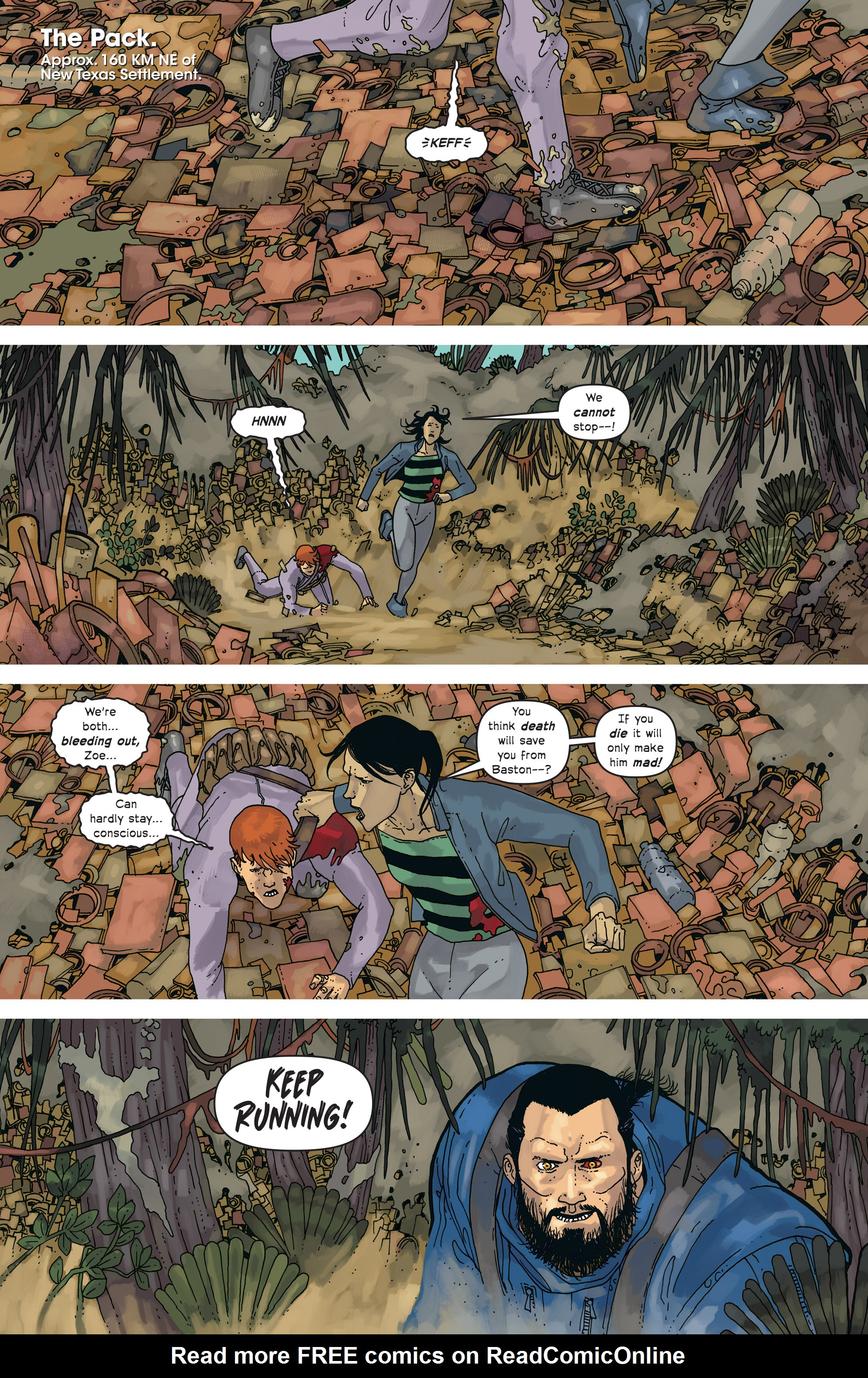 Read online Great Pacific comic -  Issue #18 - 3
