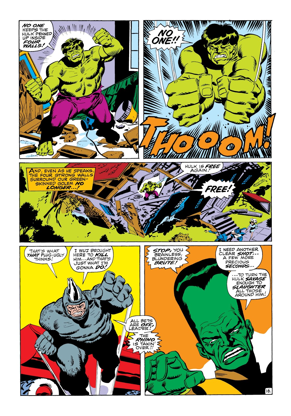 Read online Marvel Masterworks: The Incredible Hulk comic -  Issue # TPB 6 (Part 1) - 67