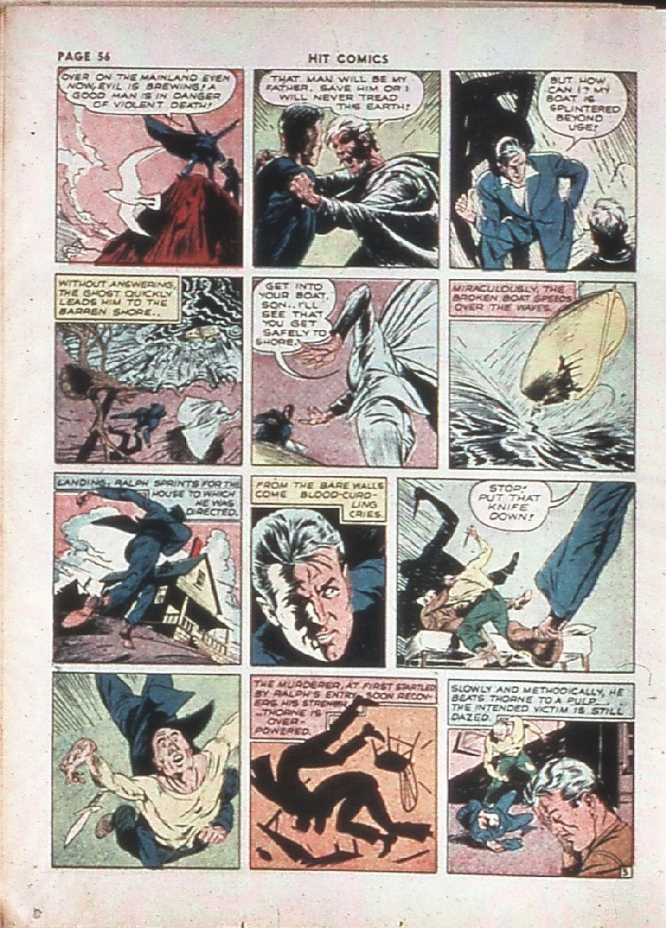 Read online Hit Comics comic -  Issue #10 - 58