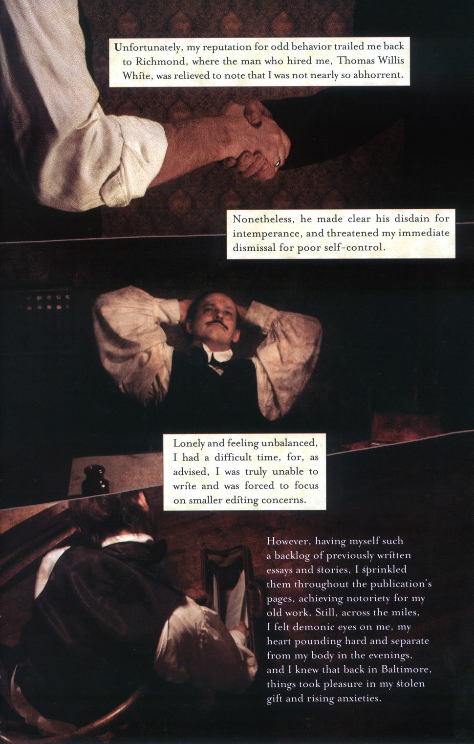 Read online In the Shadow of Edgar Allan Poe comic -  Issue # TPB - 31