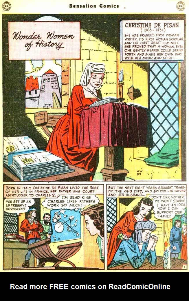 Read online Sensation (Mystery) Comics comic -  Issue #92 - 35