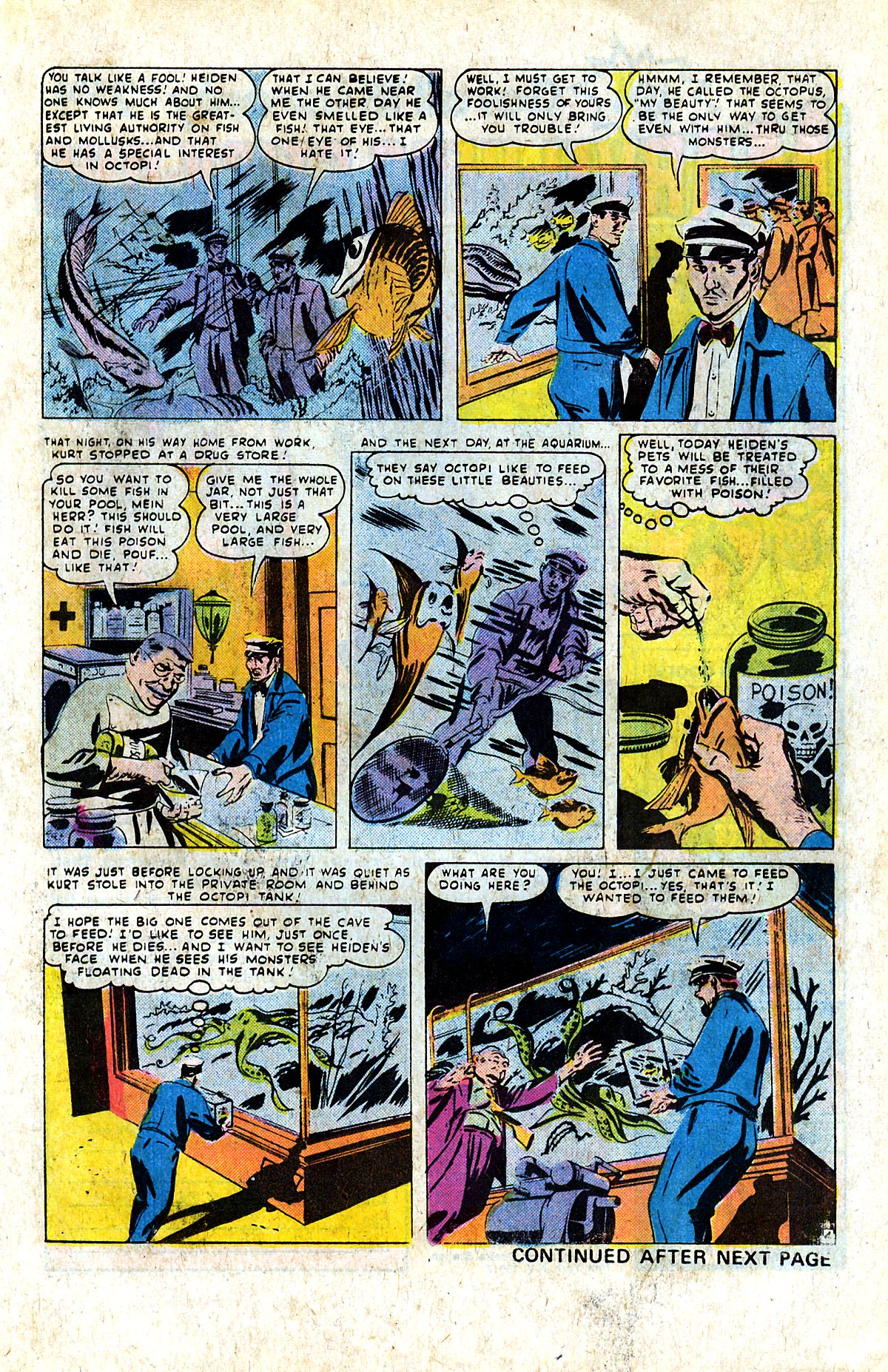Read online Adventures into Weird Worlds comic -  Issue #9 - 10
