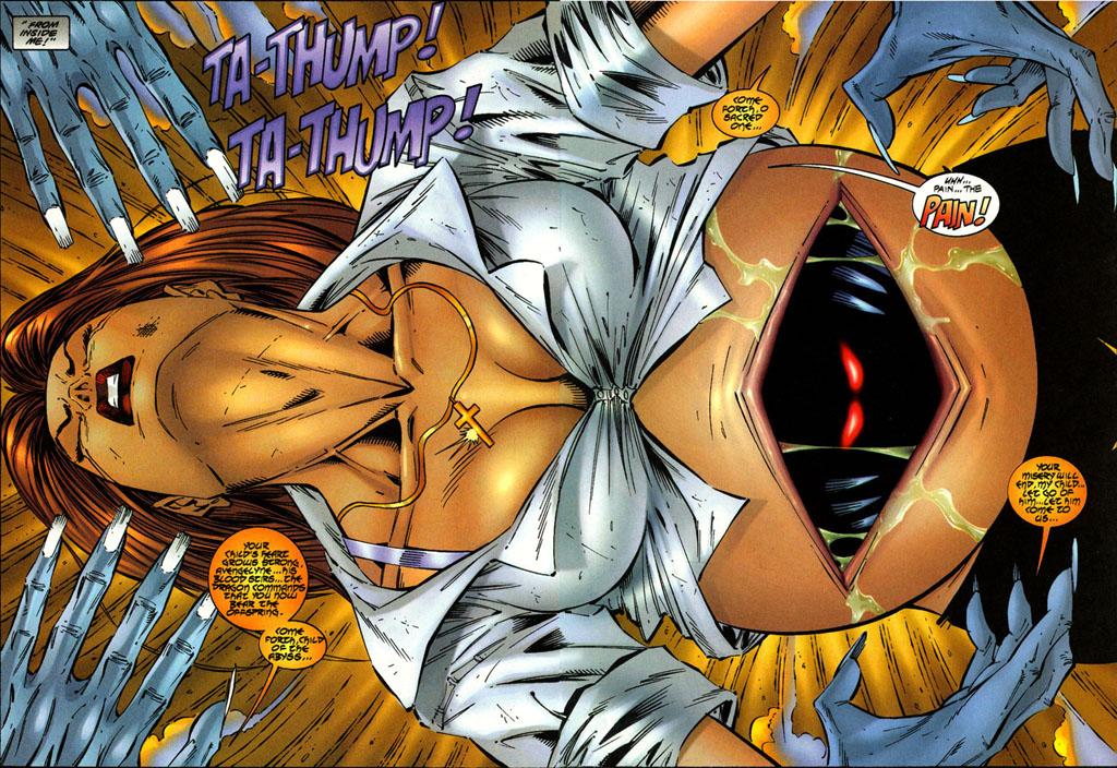 Read online Avengelyne (1996) comic -  Issue #3 - 4