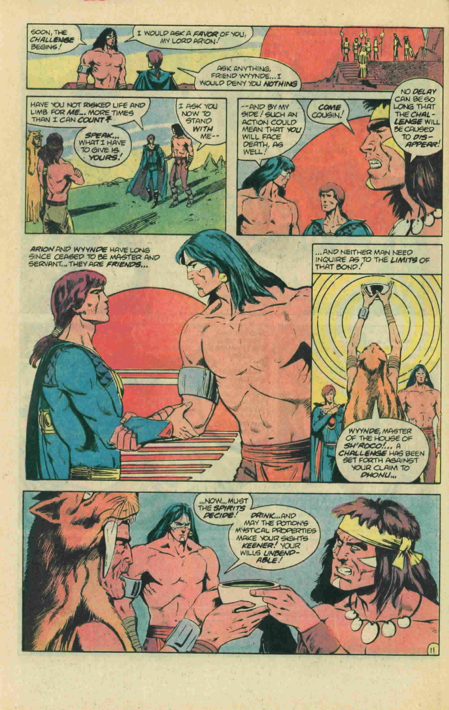 Read online Arion, Lord of Atlantis comic -  Issue #13 - 17